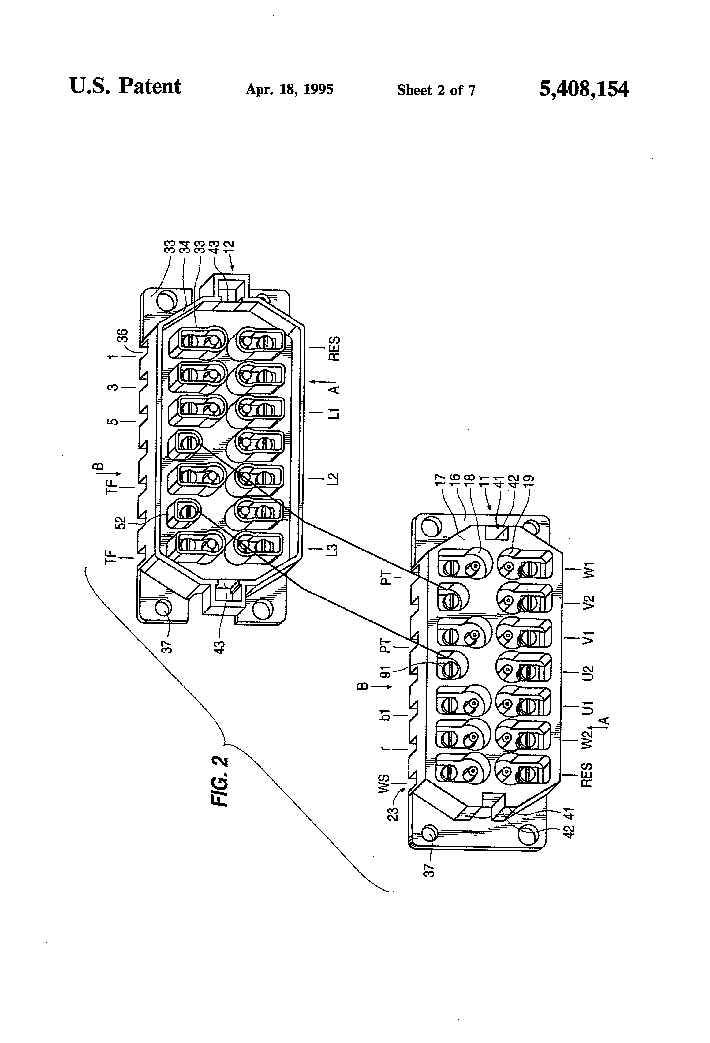 US5408154 2 patent us5408154 motor connection block, particularly for sew eurodrive wiring diagram at eliteediting.co