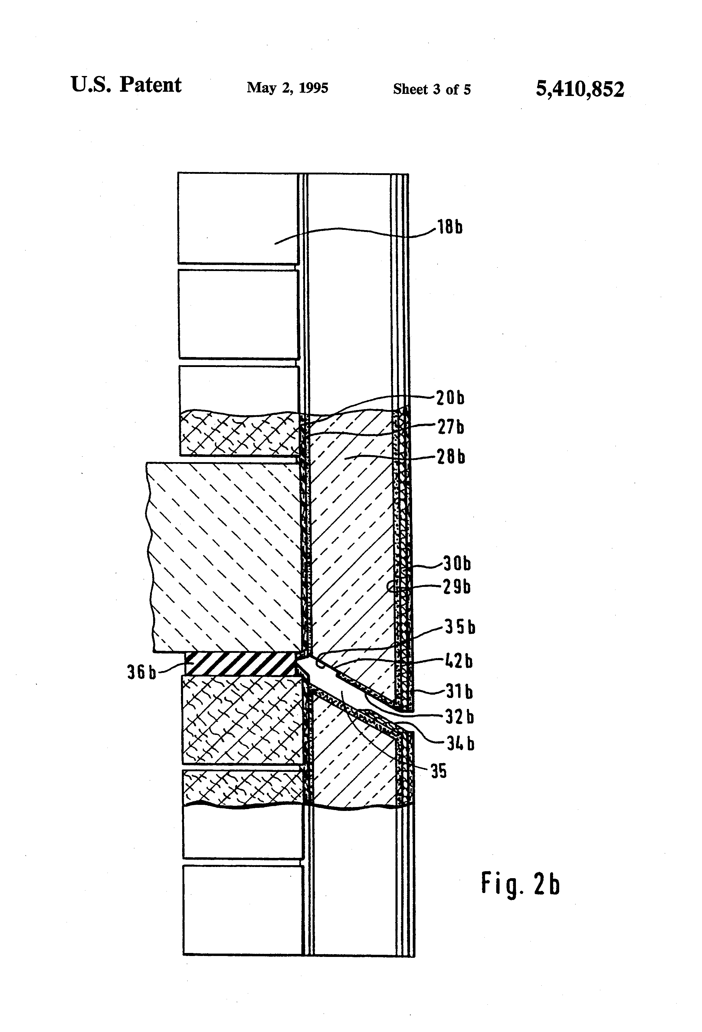 Patent Us5410852 Exterior Insulation And Finish System Google Patents