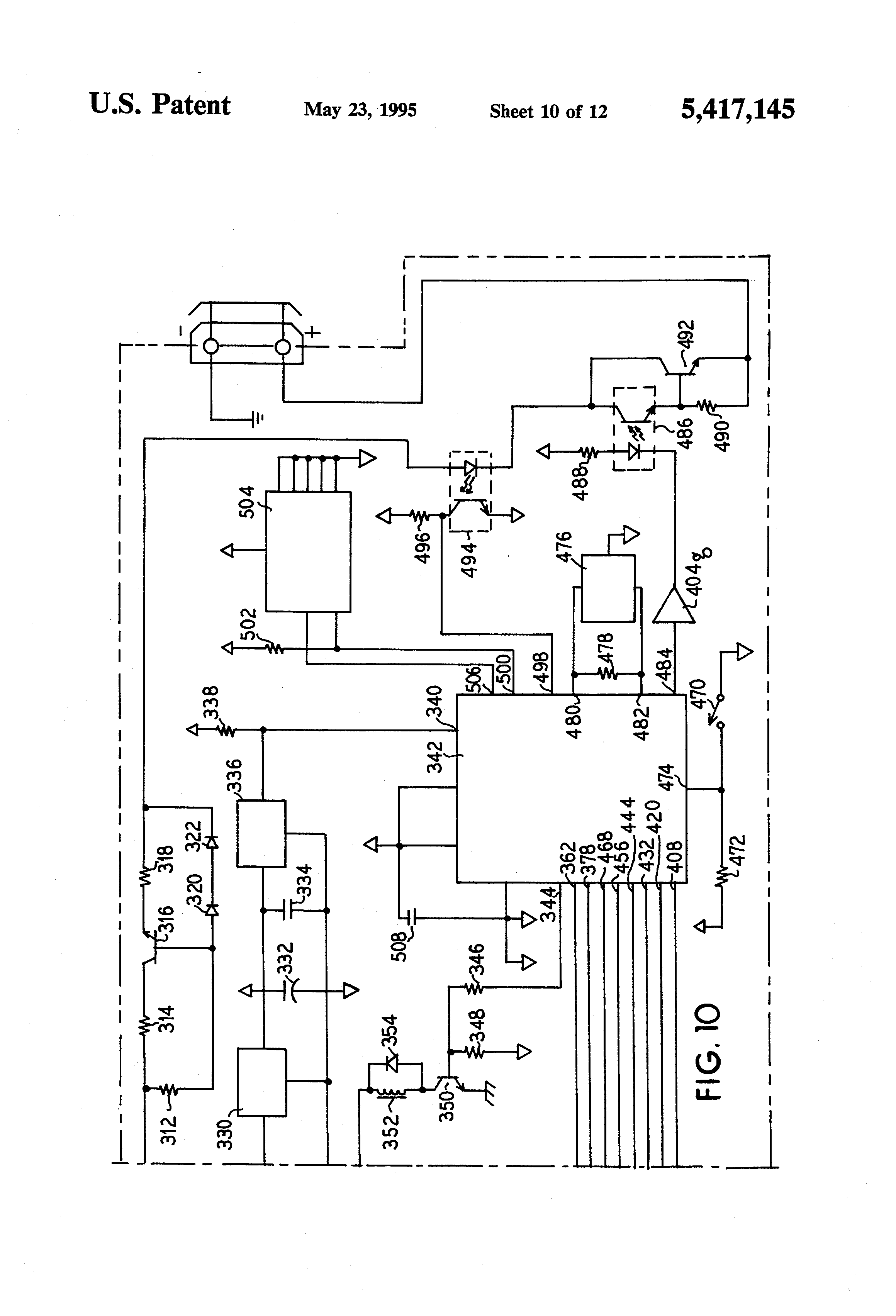 wiring diagram edwards 592 transformer wiring patent us5417145 control apparatus and method for coffee grinder on wiring diagram edwards 592 transformer