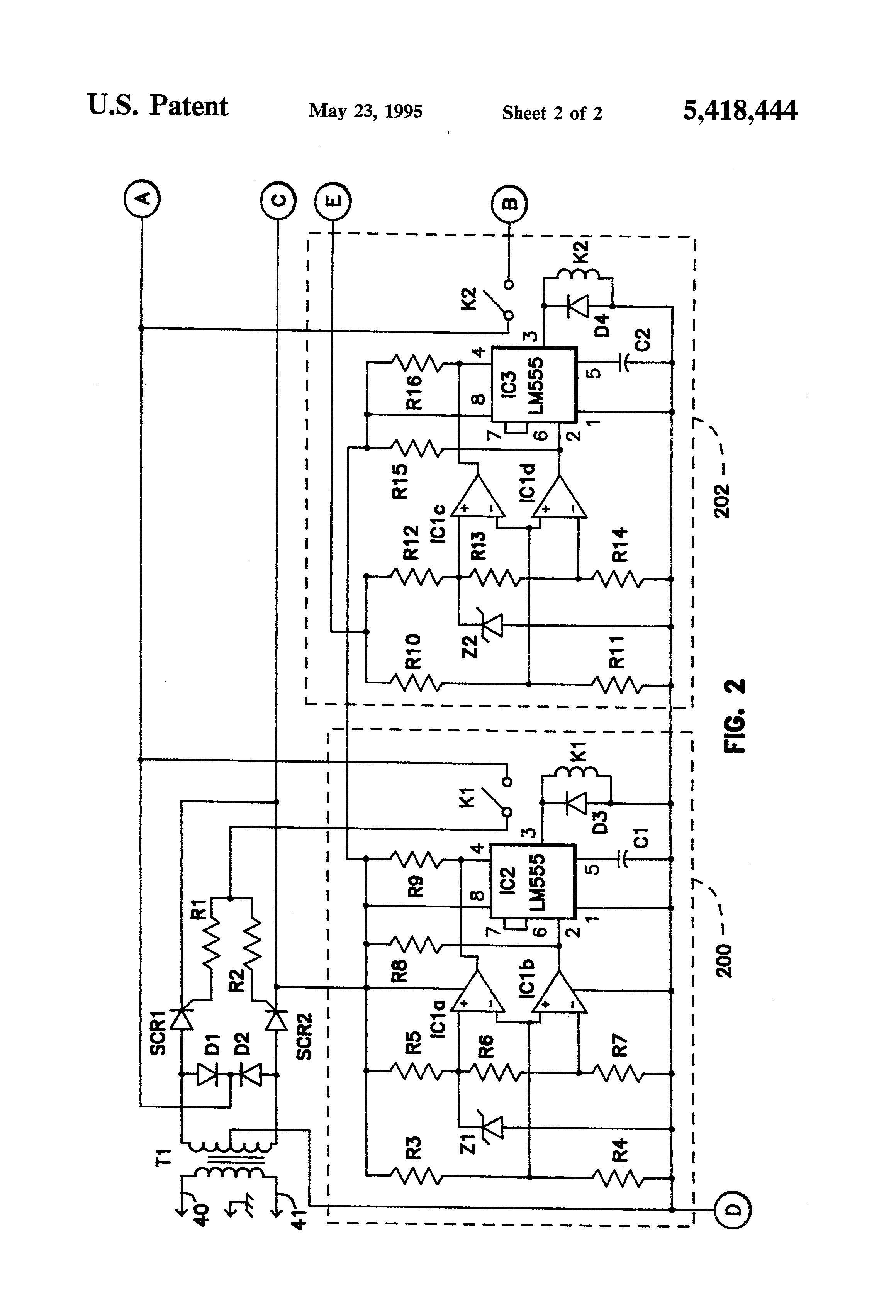 patent us5418444