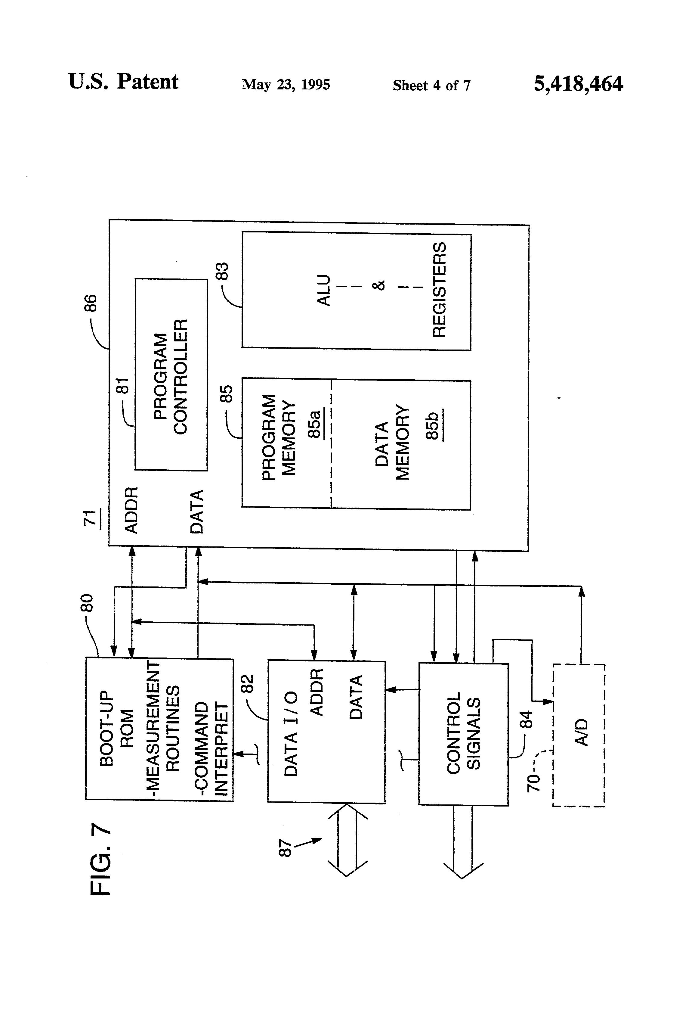patent us5418464