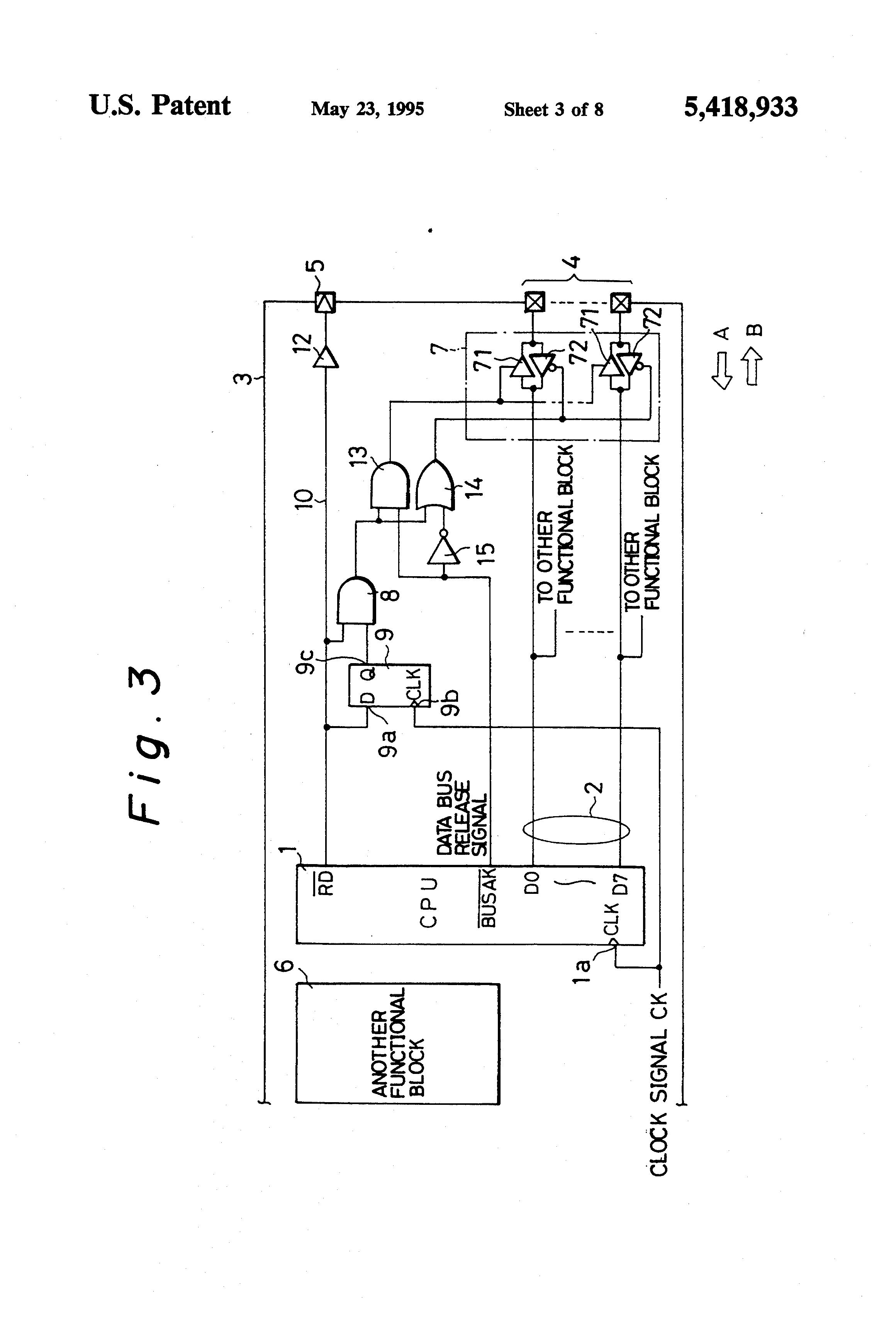 patent us5418933