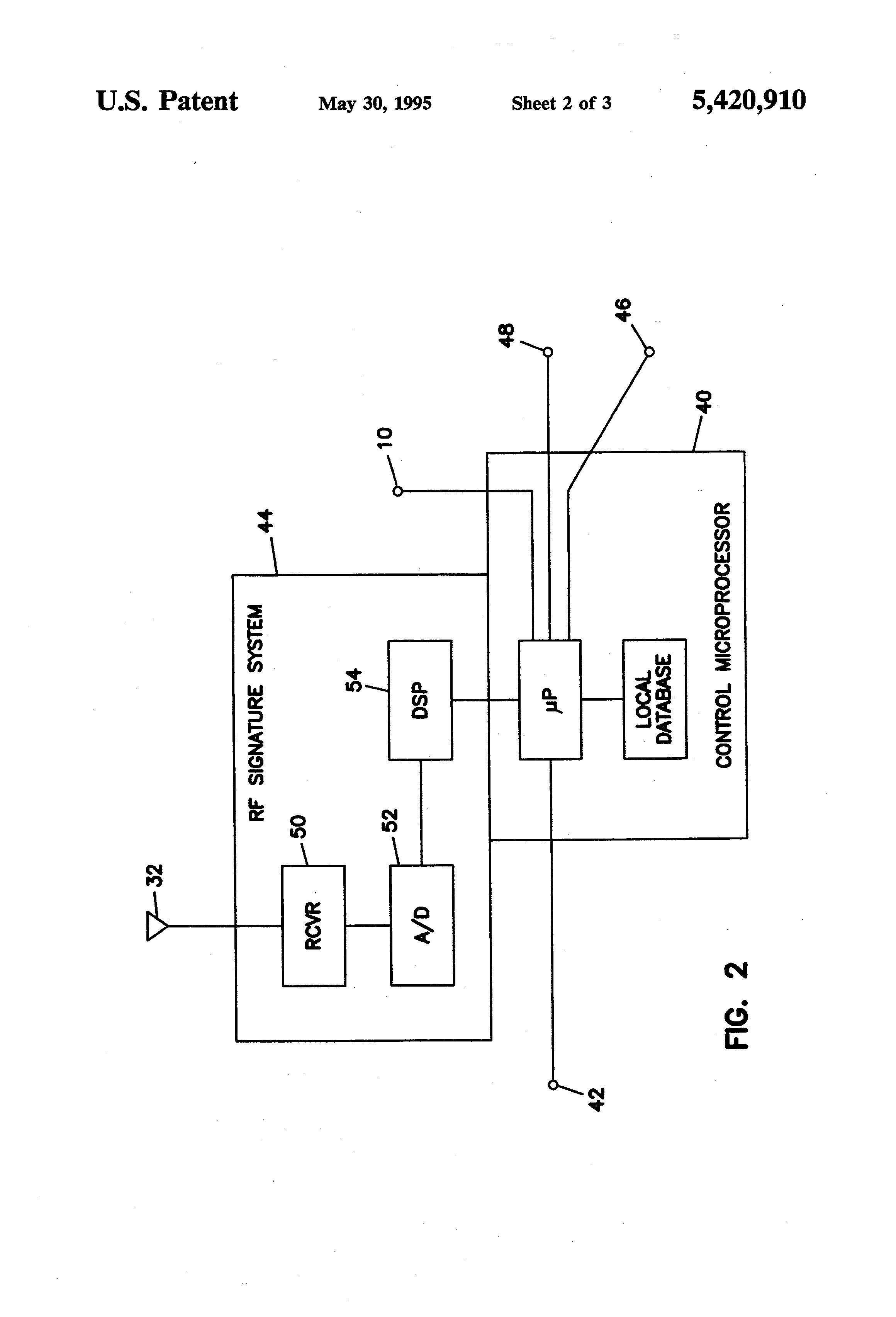 patent us5420910