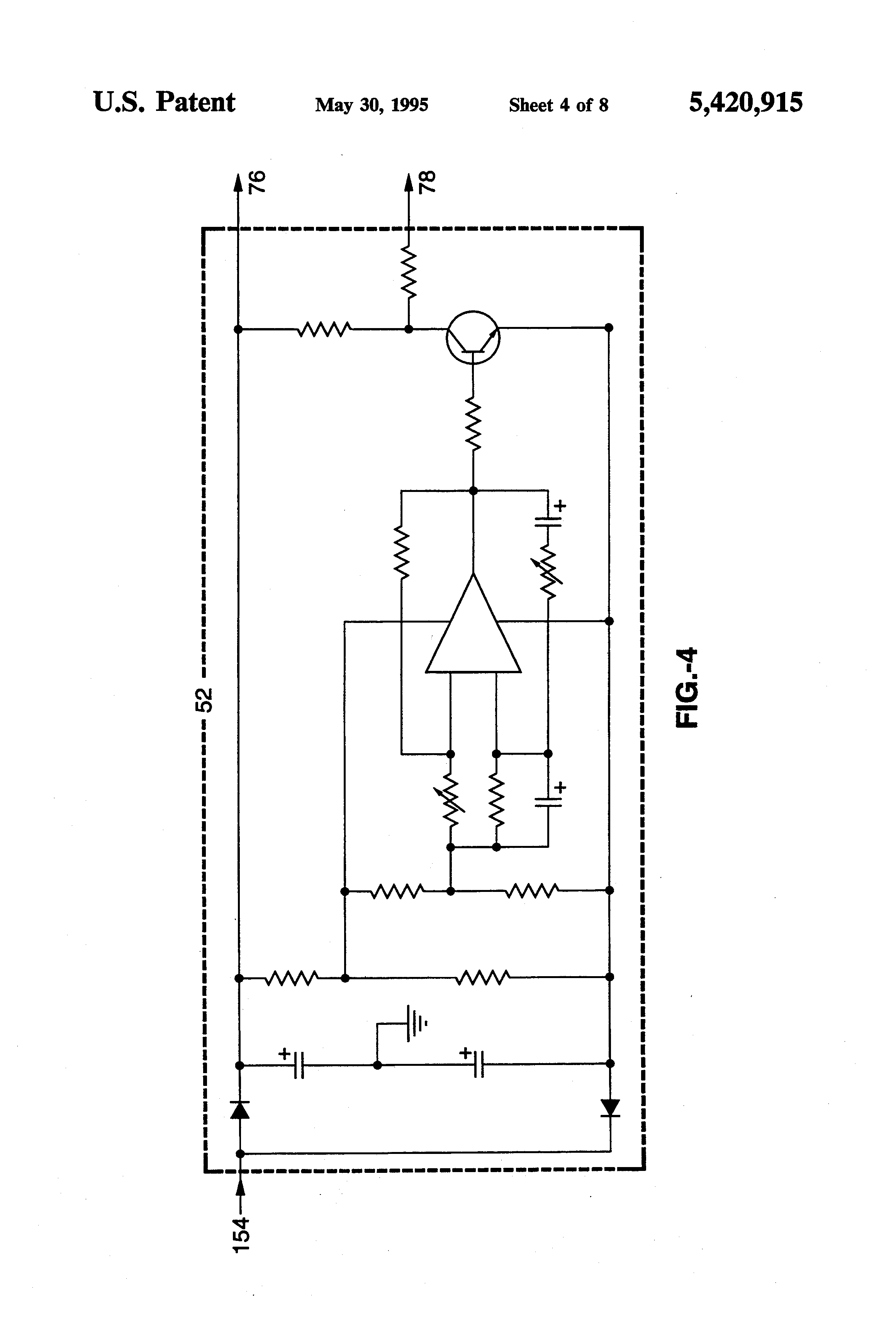 Patent Us5420915 Apparatus For Instruction In Use Of Telephone Schematic Remote Ringer Drawing