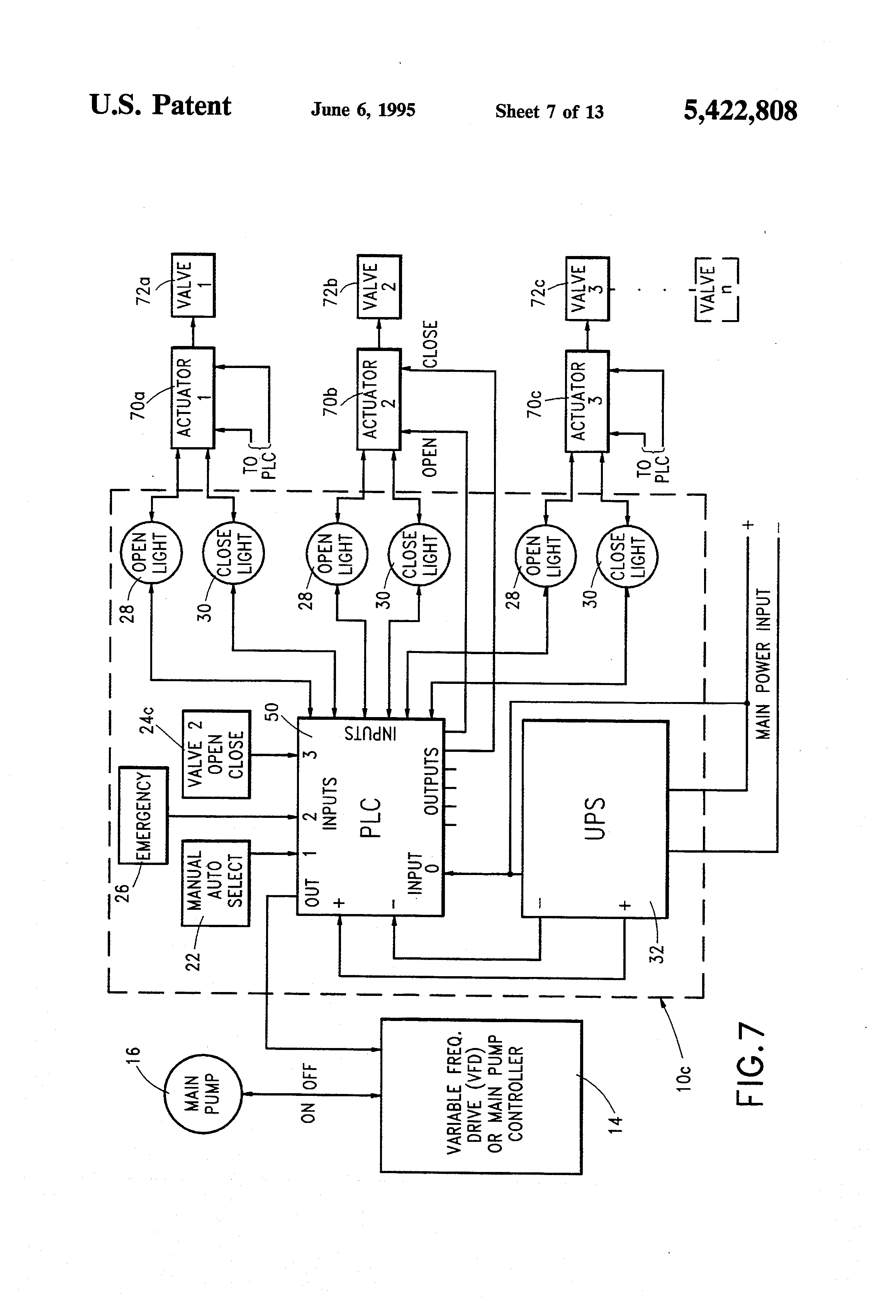 US5422808 7 patent us5422808 method and apparatus for fail safe control of rotork eh actuator wiring diagram at panicattacktreatment.co
