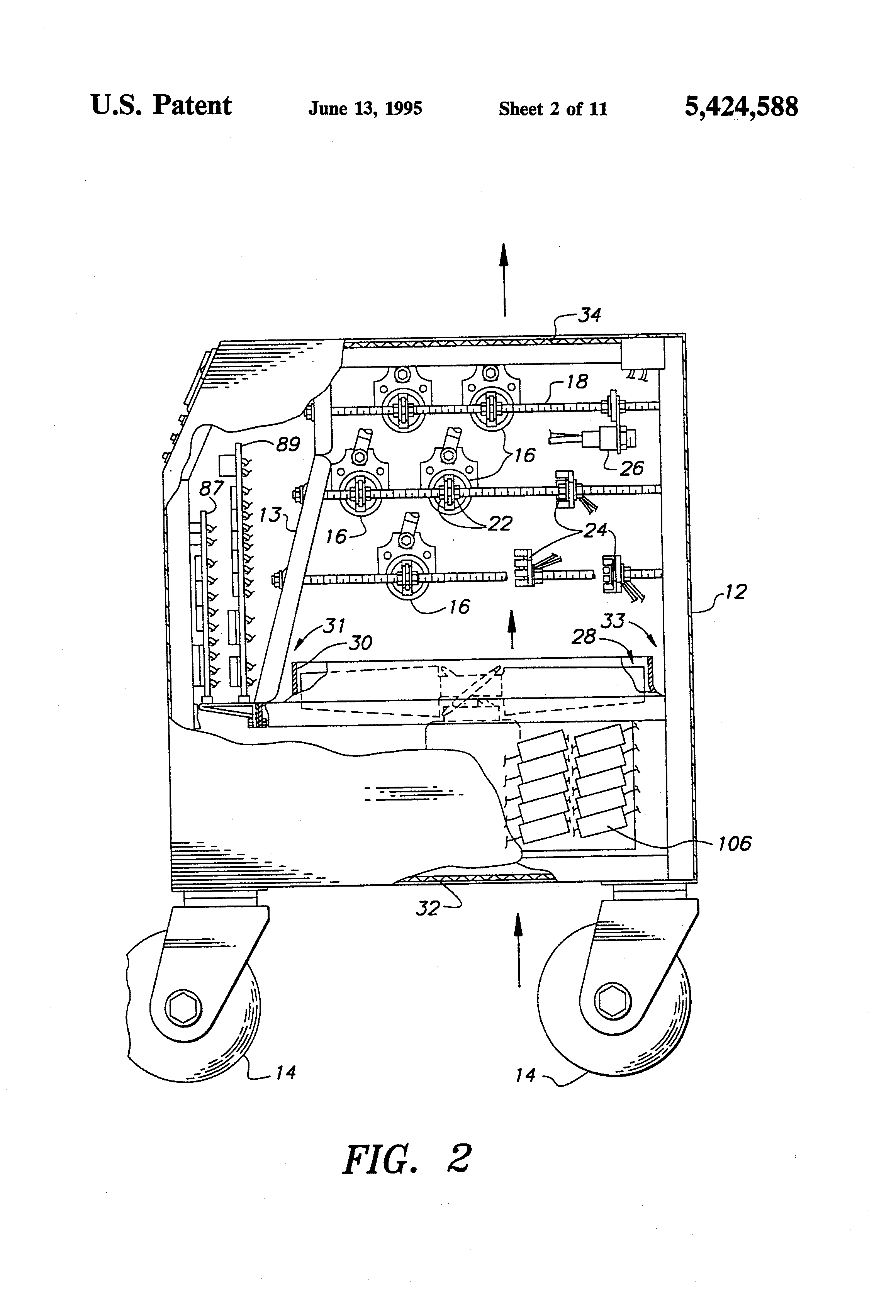 US5424588 2 patent us5424588 self contained, portable compact load bank and resistive load bank wiring diagram at love-stories.co
