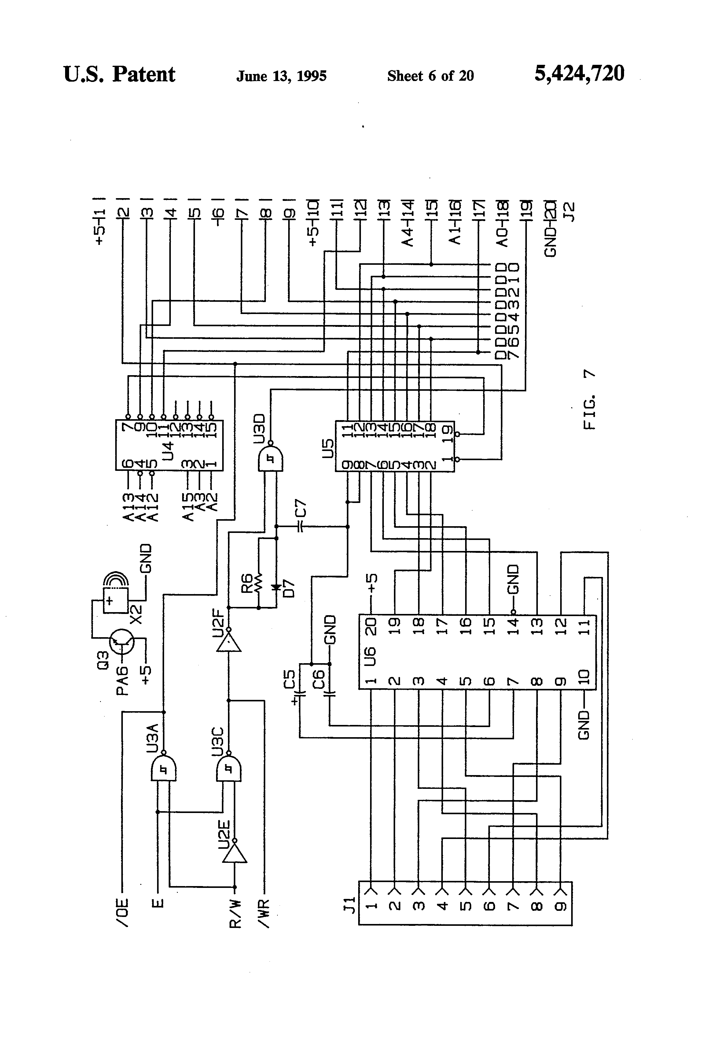 US5424720 6 hussmann wiring diagram microphone wiring diagrams \u2022 wiring hussmann rl5 wiring diagram at crackthecode.co
