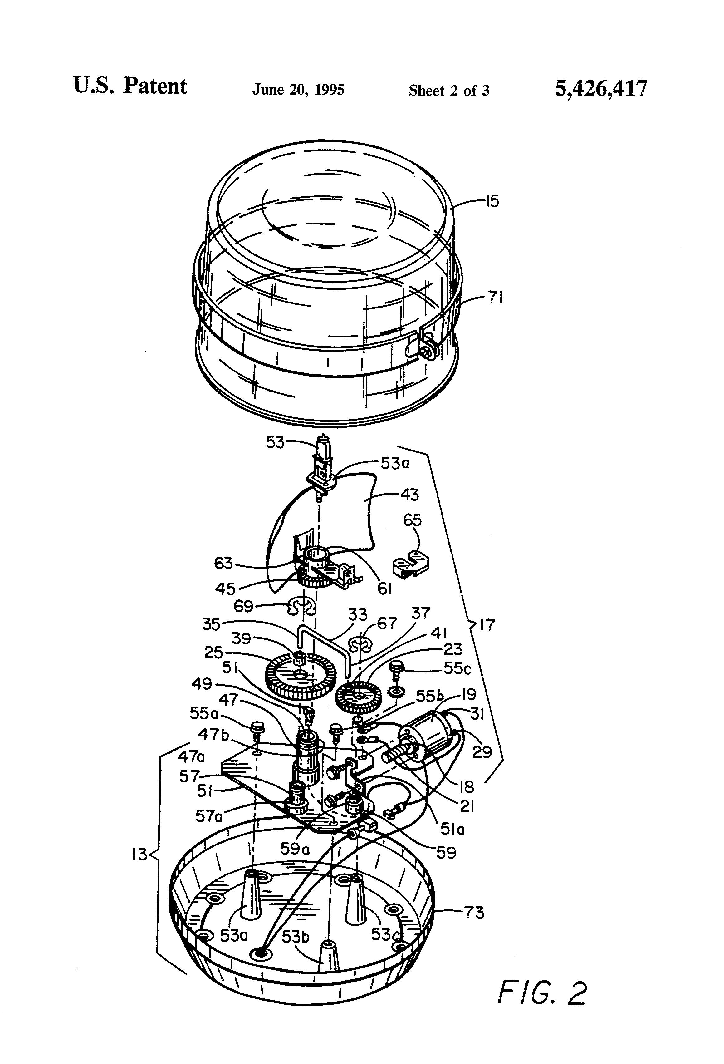 patent us5426417