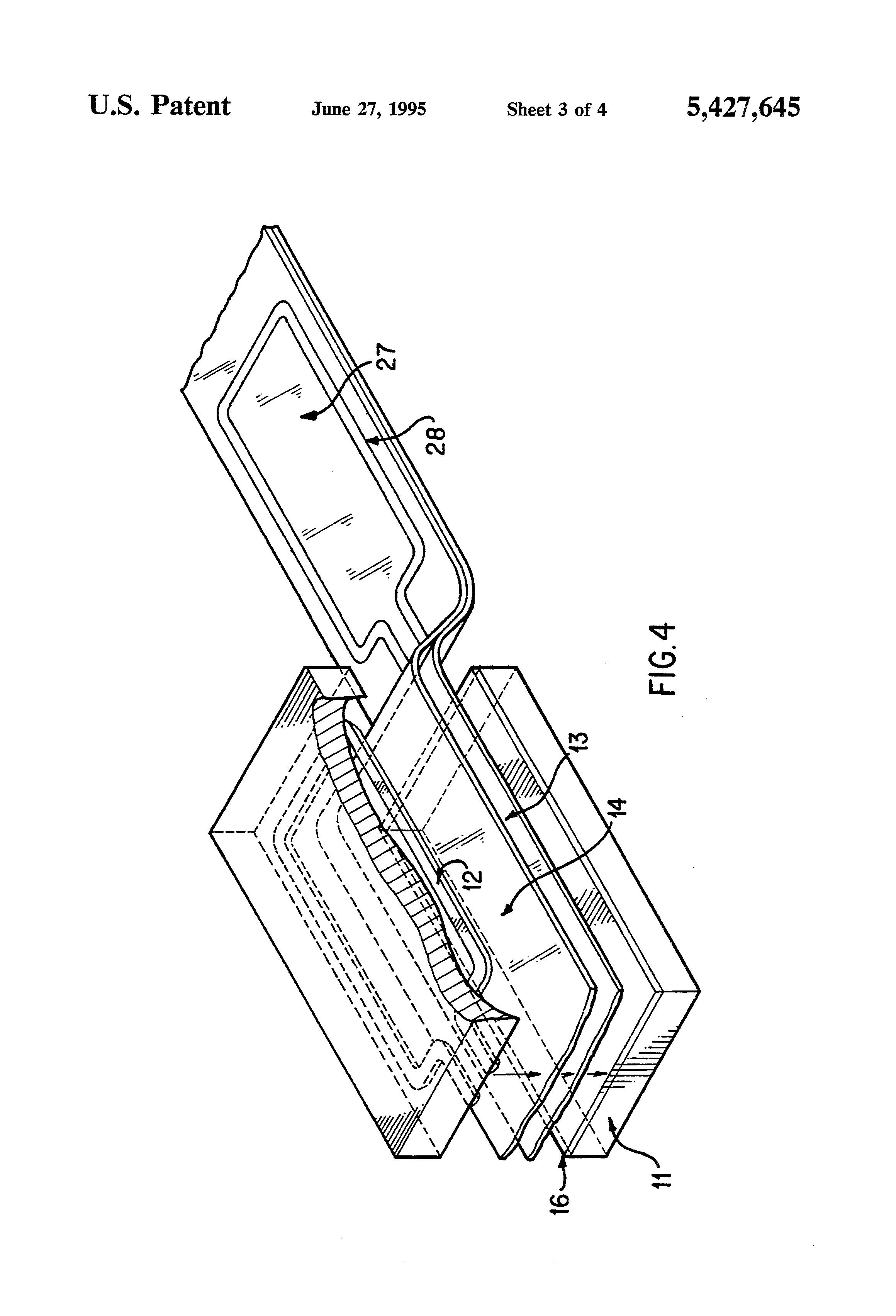 patent us5427645 apparatus and method for radio frequency Haldex ABS Wiring Diagram bendix trailer abs wiring diagram