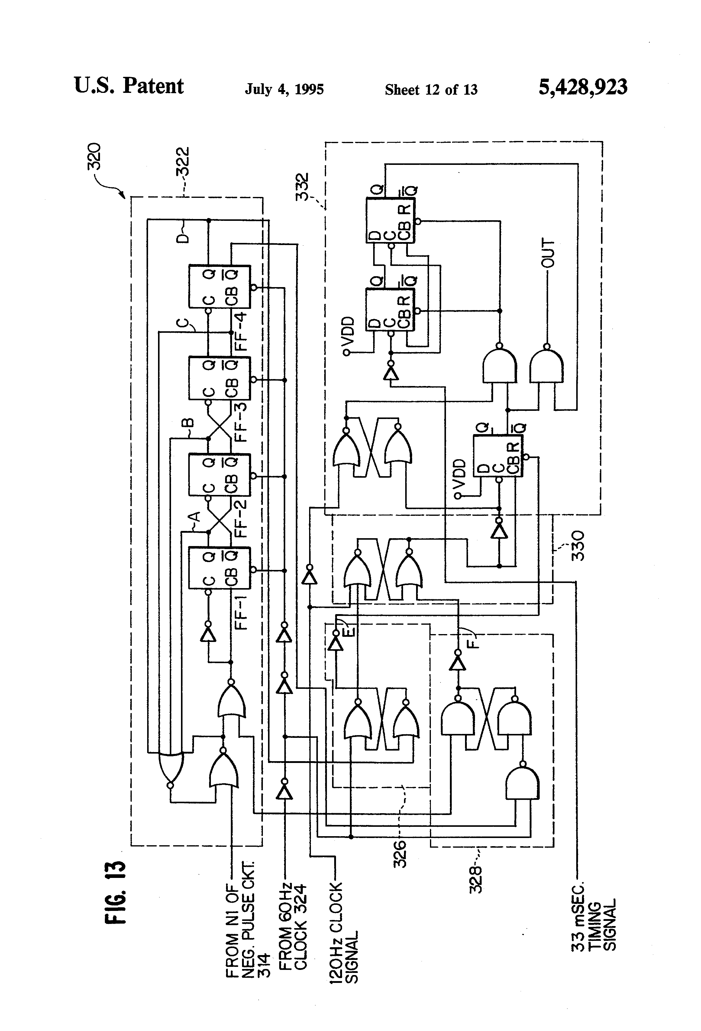 US5428923 12 patent us5428923 fail safe obstruction detector for door telectron rd14-6 wiring diagram at fashall.co