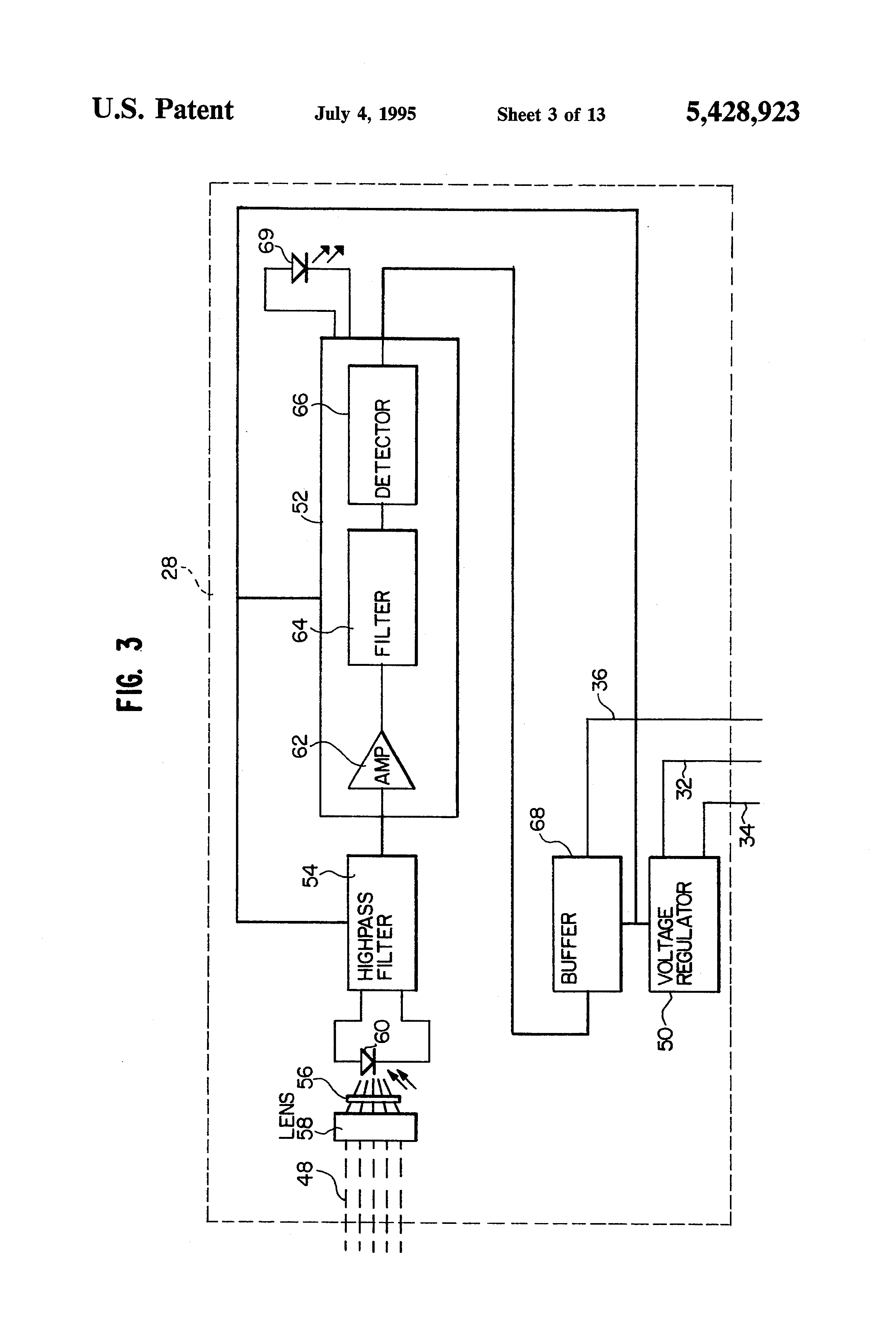 US5428923 3 patent us5428923 fail safe obstruction detector for door telectron rd14-6 wiring diagram at creativeand.co