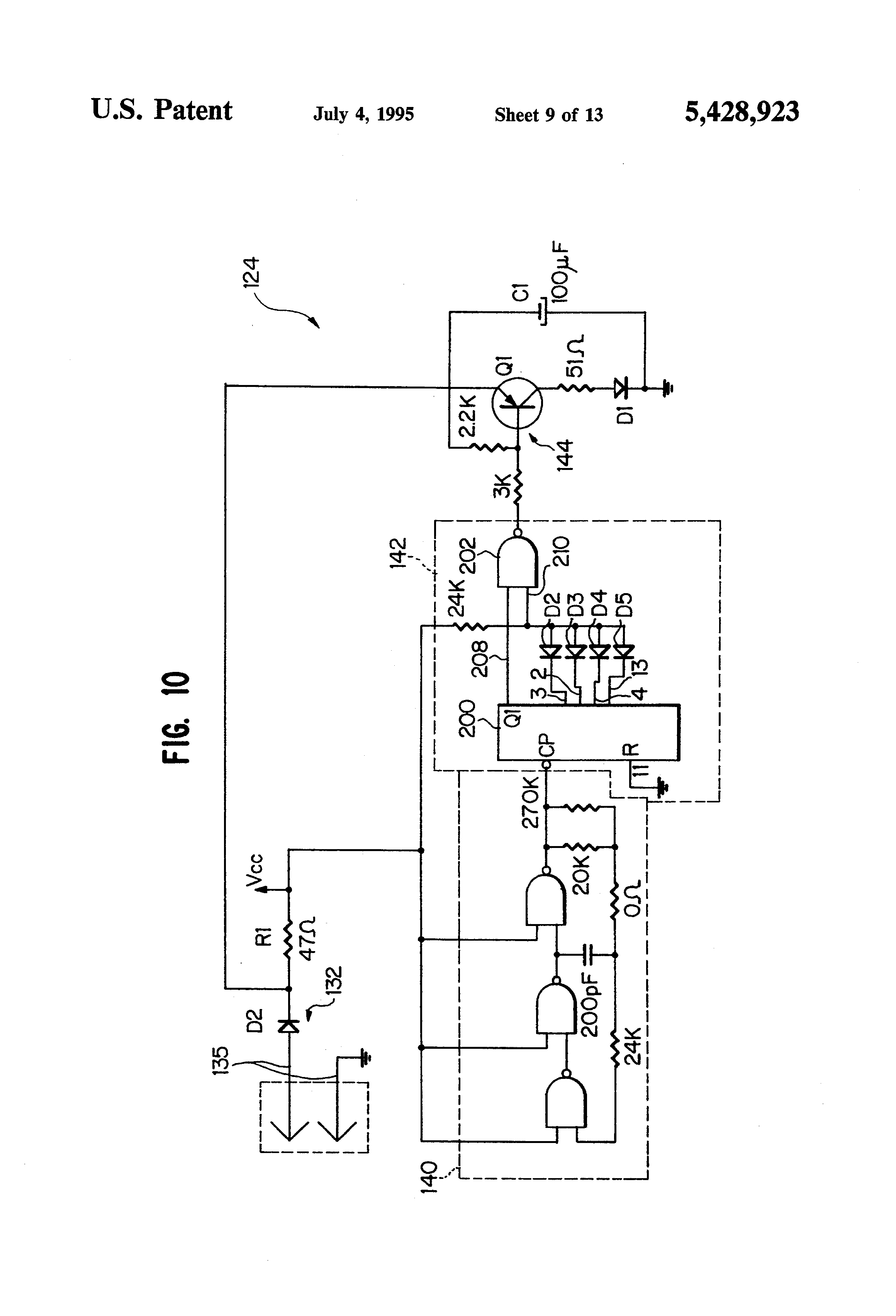 US5428923 9 patent us5428923 fail safe obstruction detector for door telectron rd14-6 wiring diagram at aneh.co