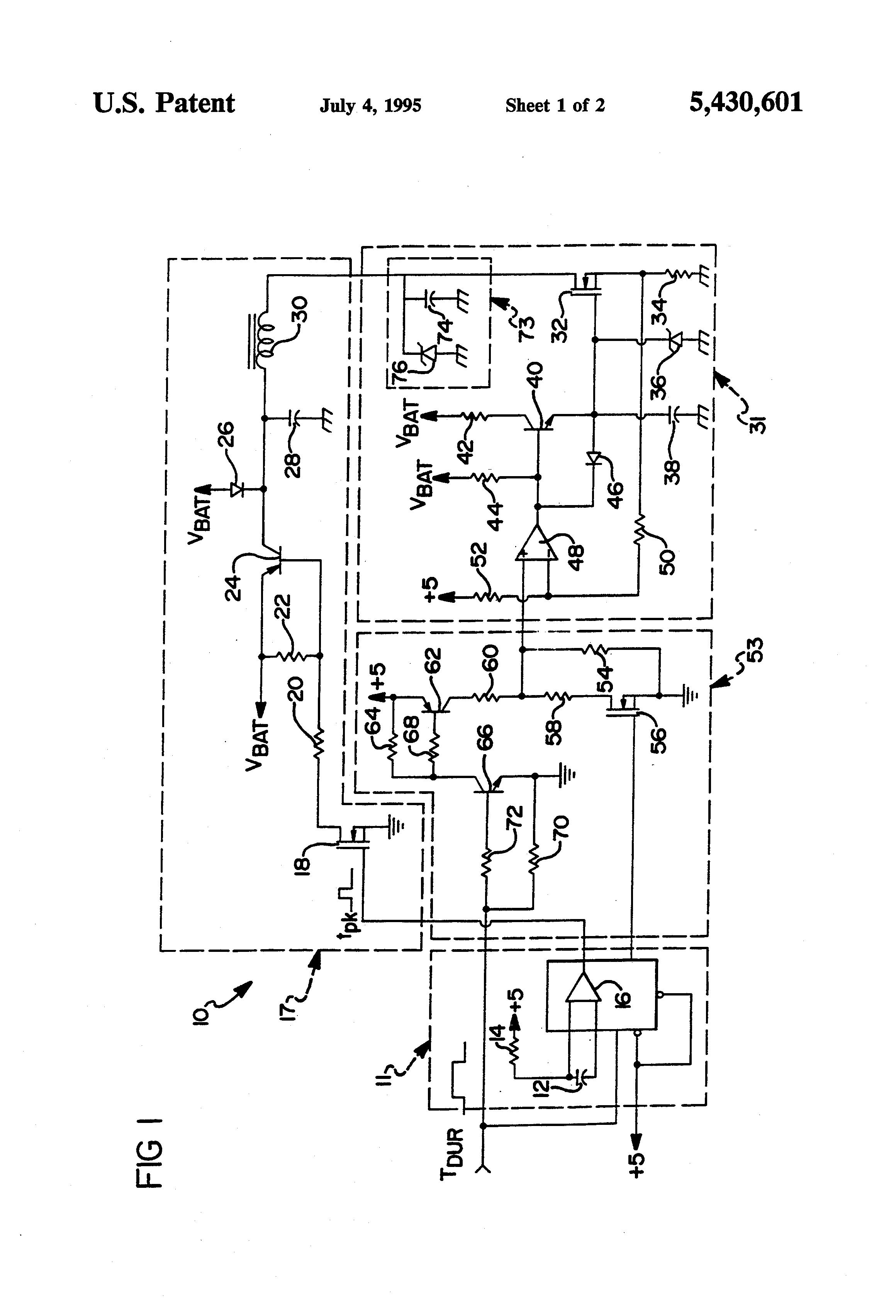 patent us5430601