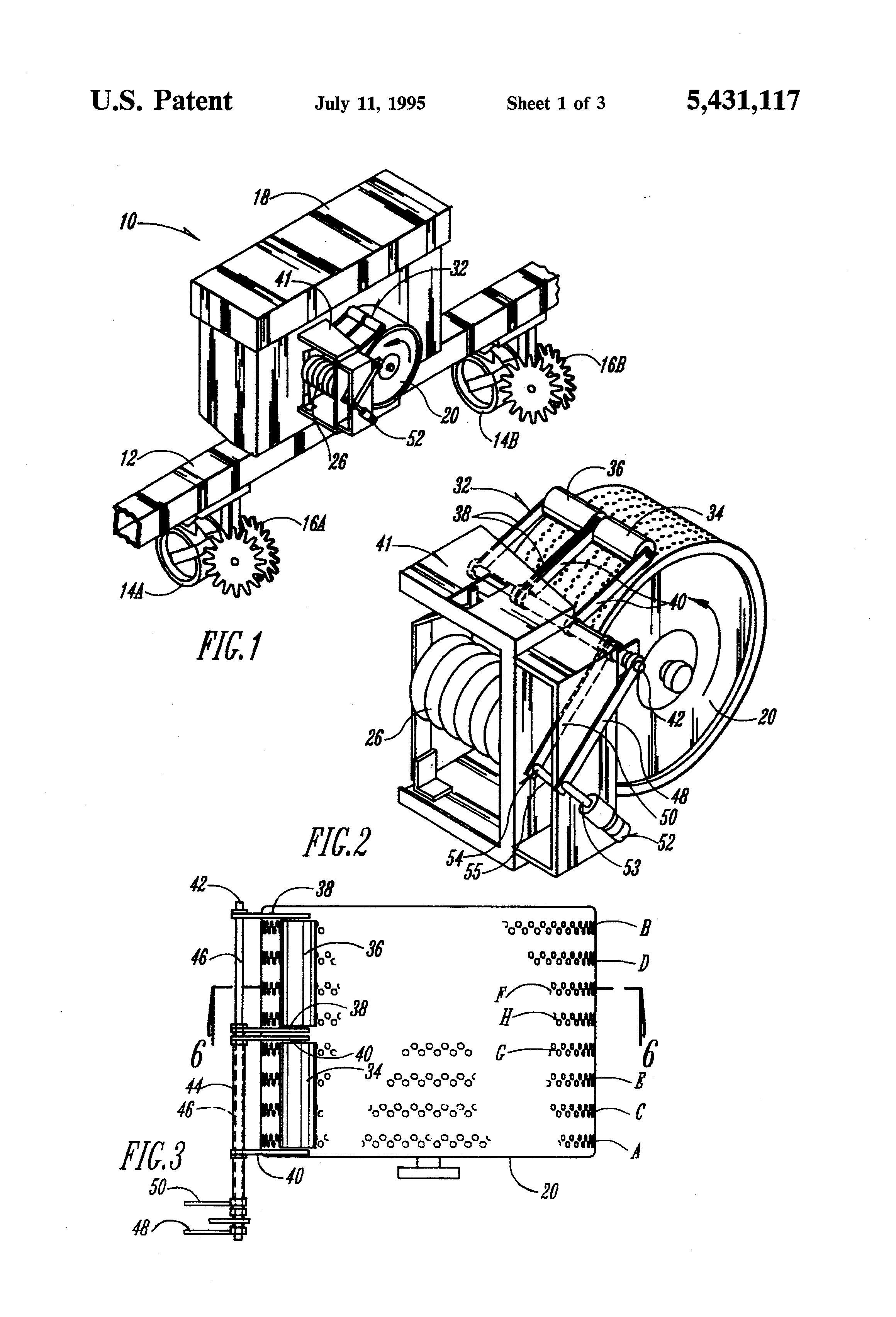 patent us5431117