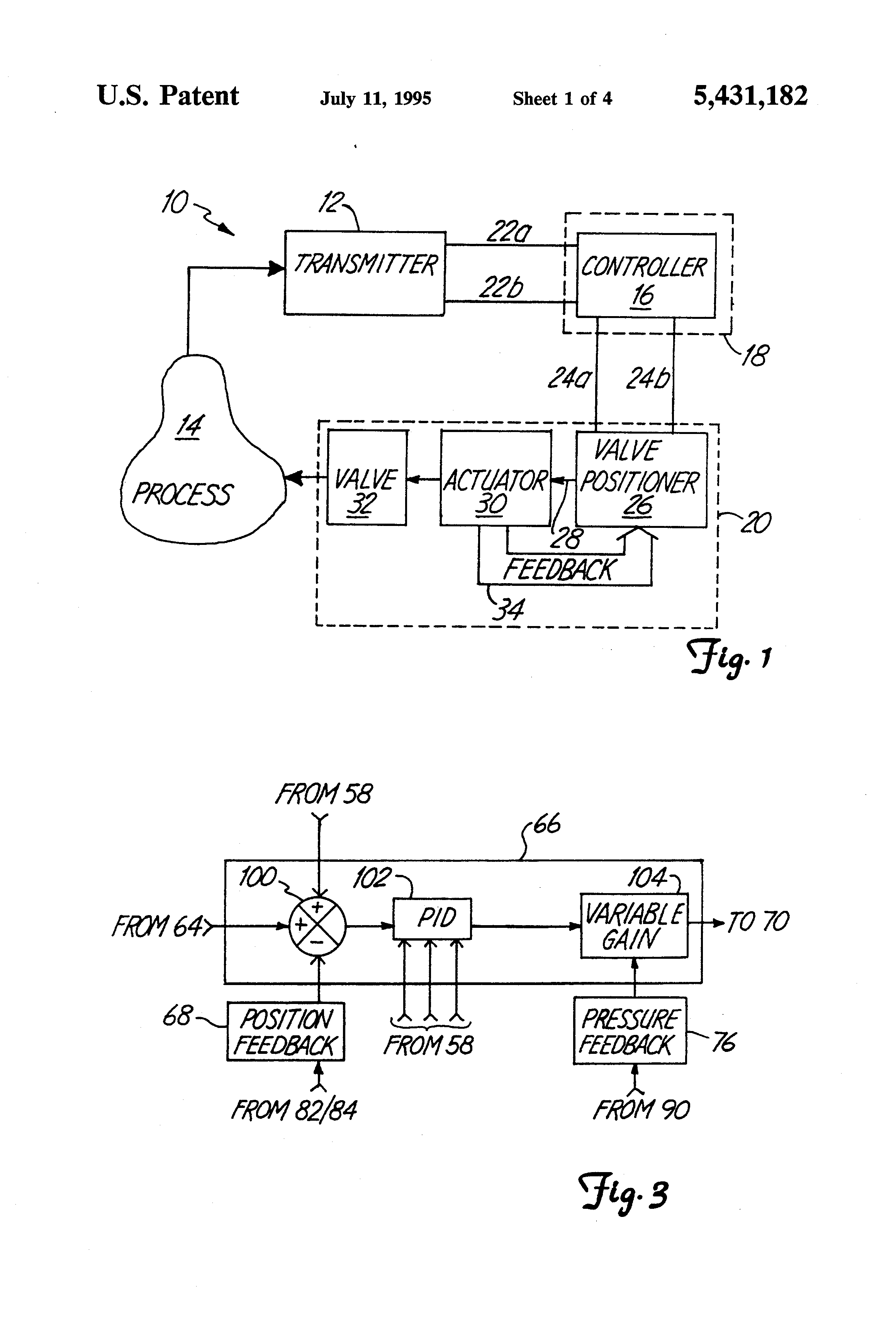patent us5431182 smart valve positioner patents
