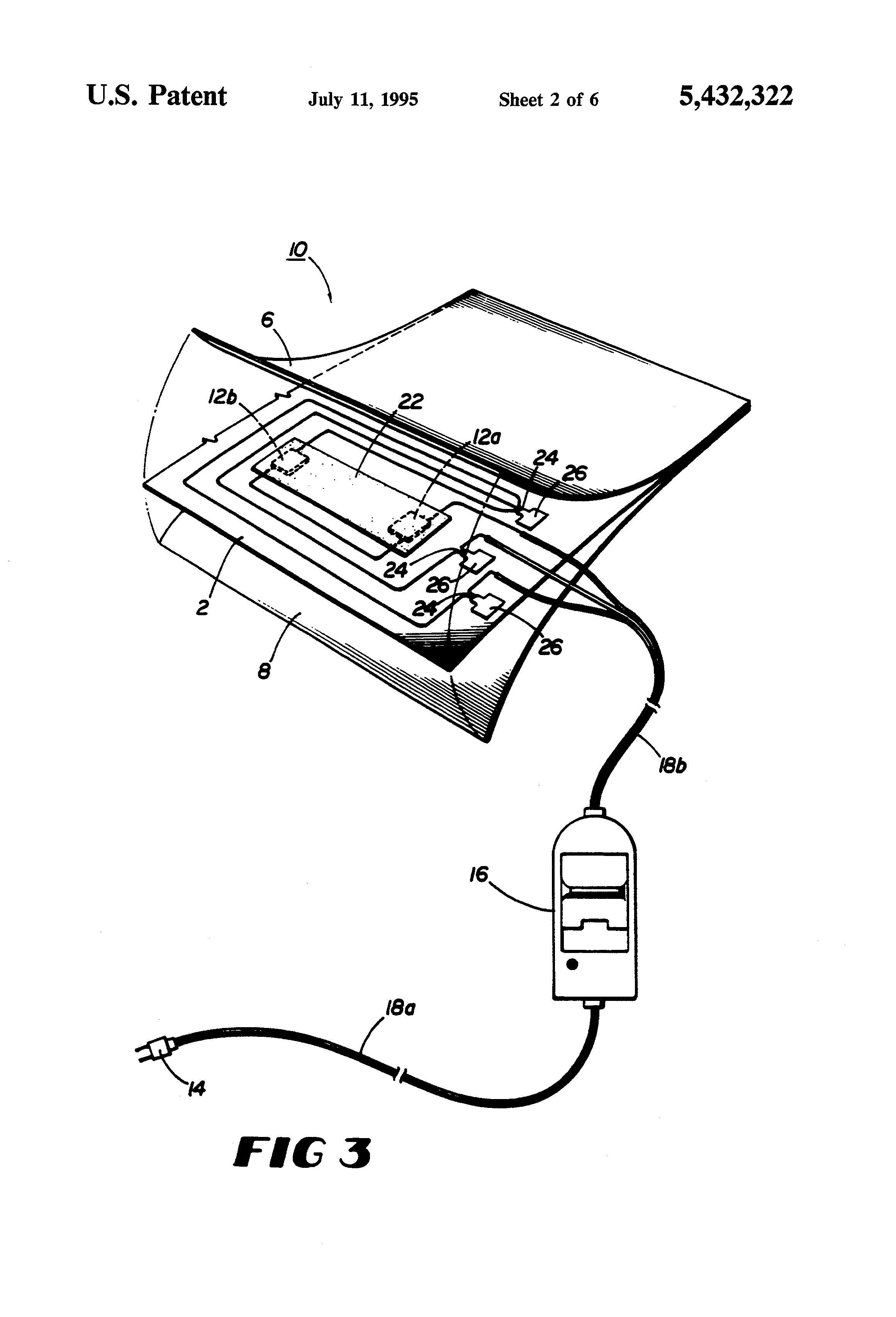 US5432322 2 patent us5432322 electric heating pad google patents heating pad wiring diagram at aneh.co