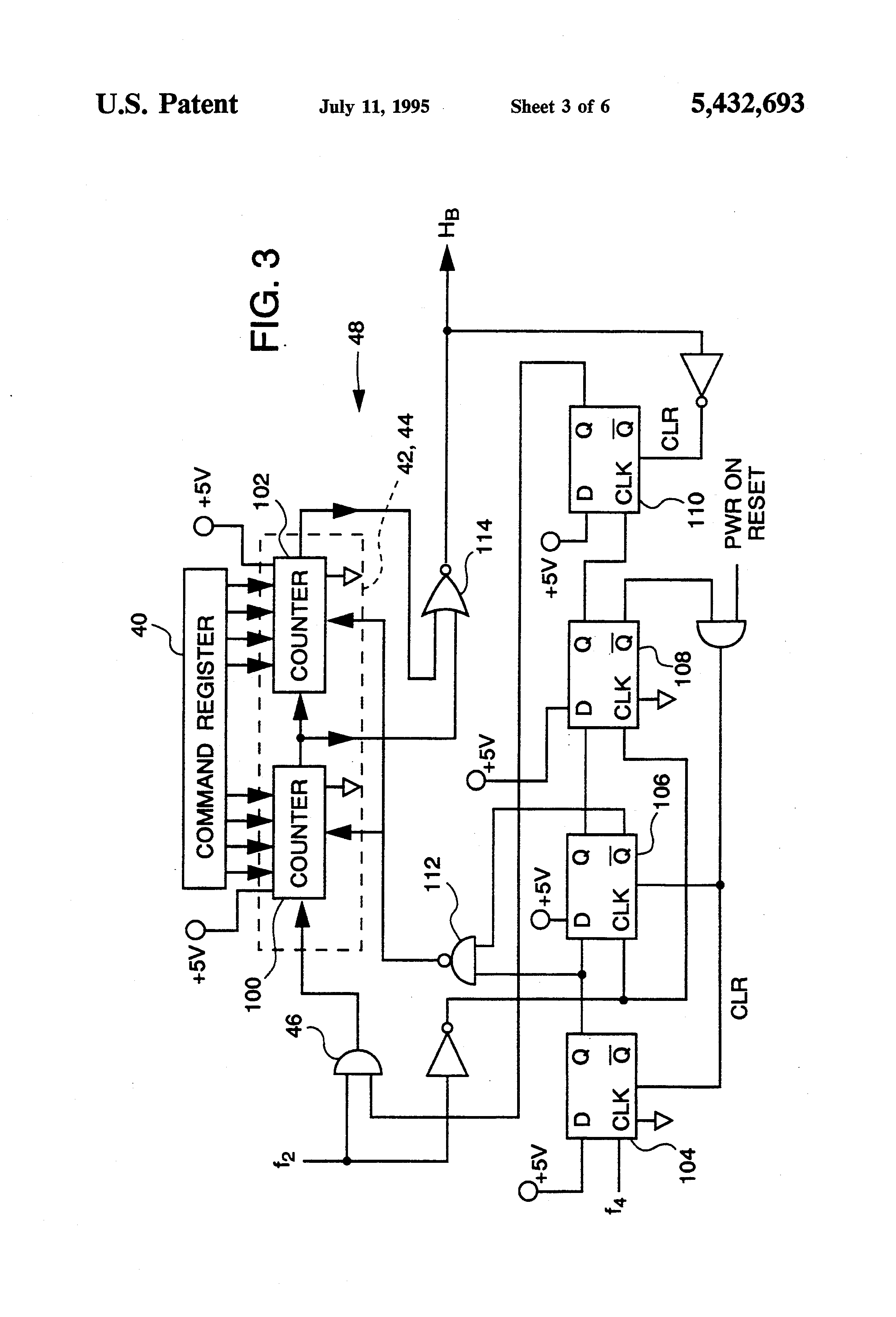 patent us5432693 - digital pulse width modulator circuit with proportional dither