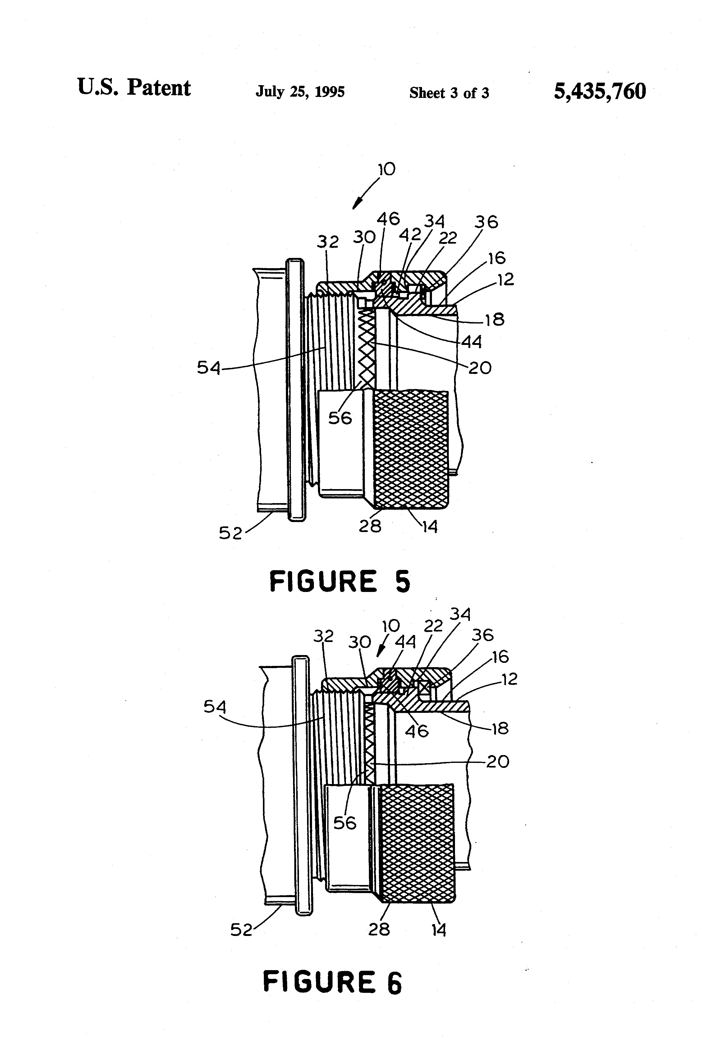 US5435760 3 patent us5435760 self seating connector adapter google patents tri pac apu fuse box and diagram at virtualis.co