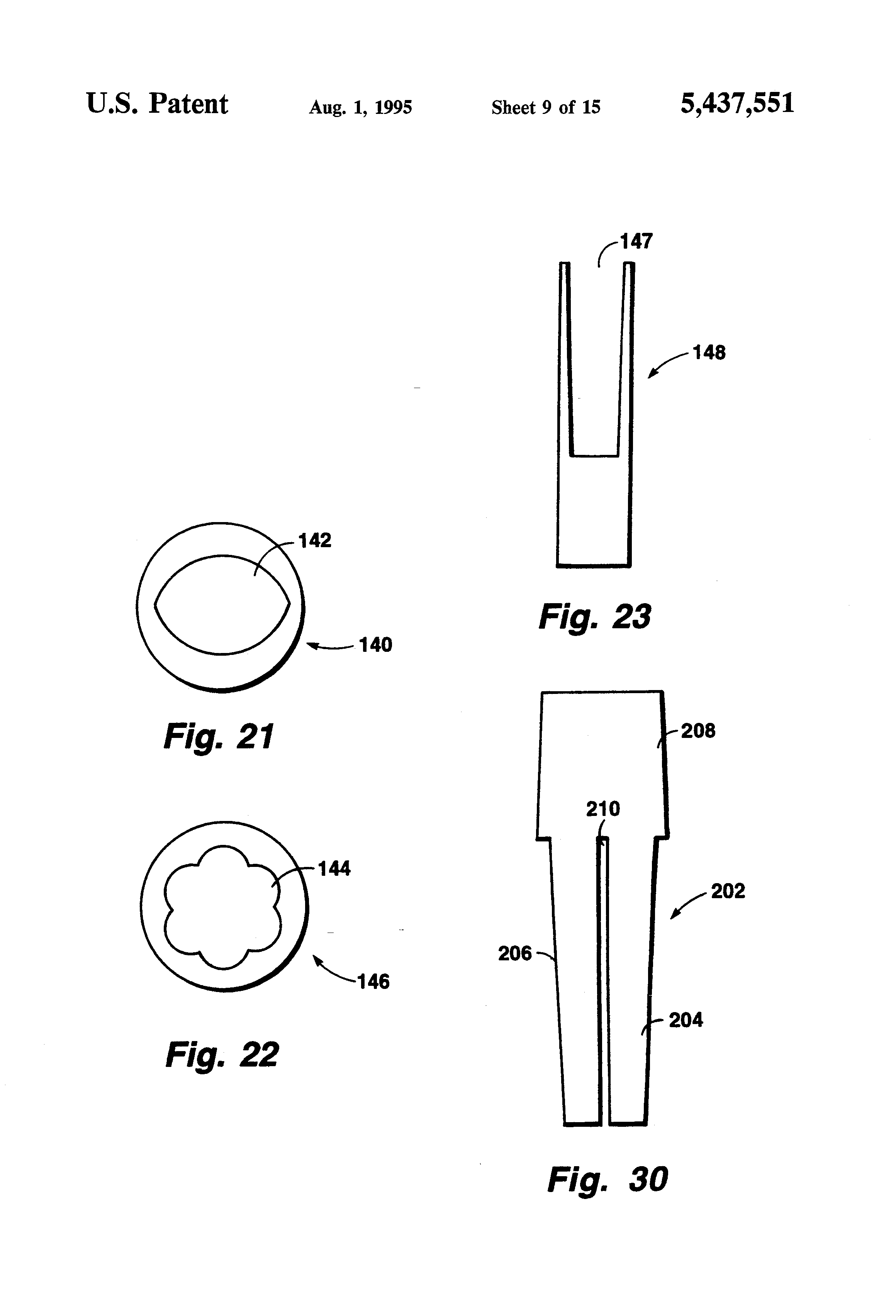 Patent Us5437551 Dental Implant Post And Prosthesis
