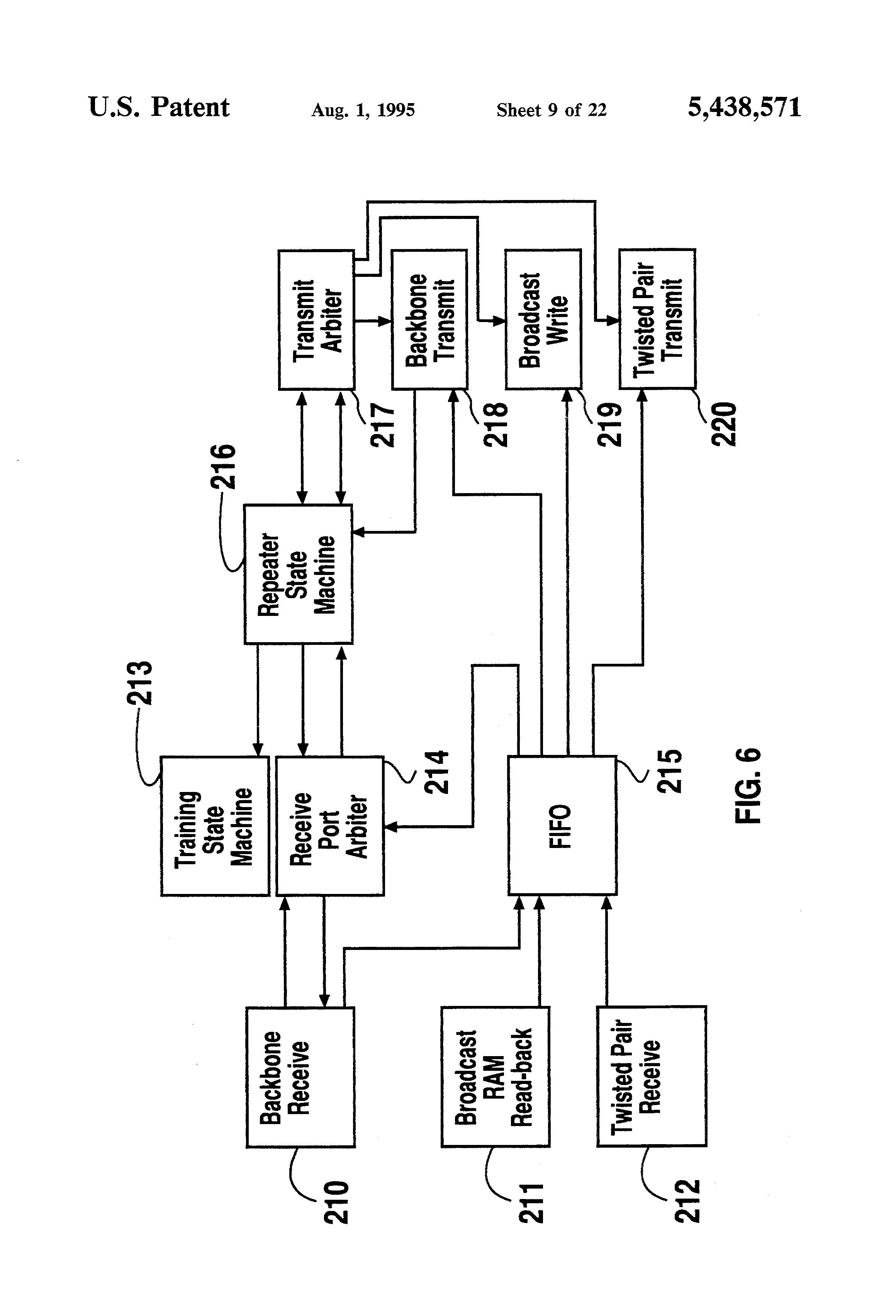 patent us5438571