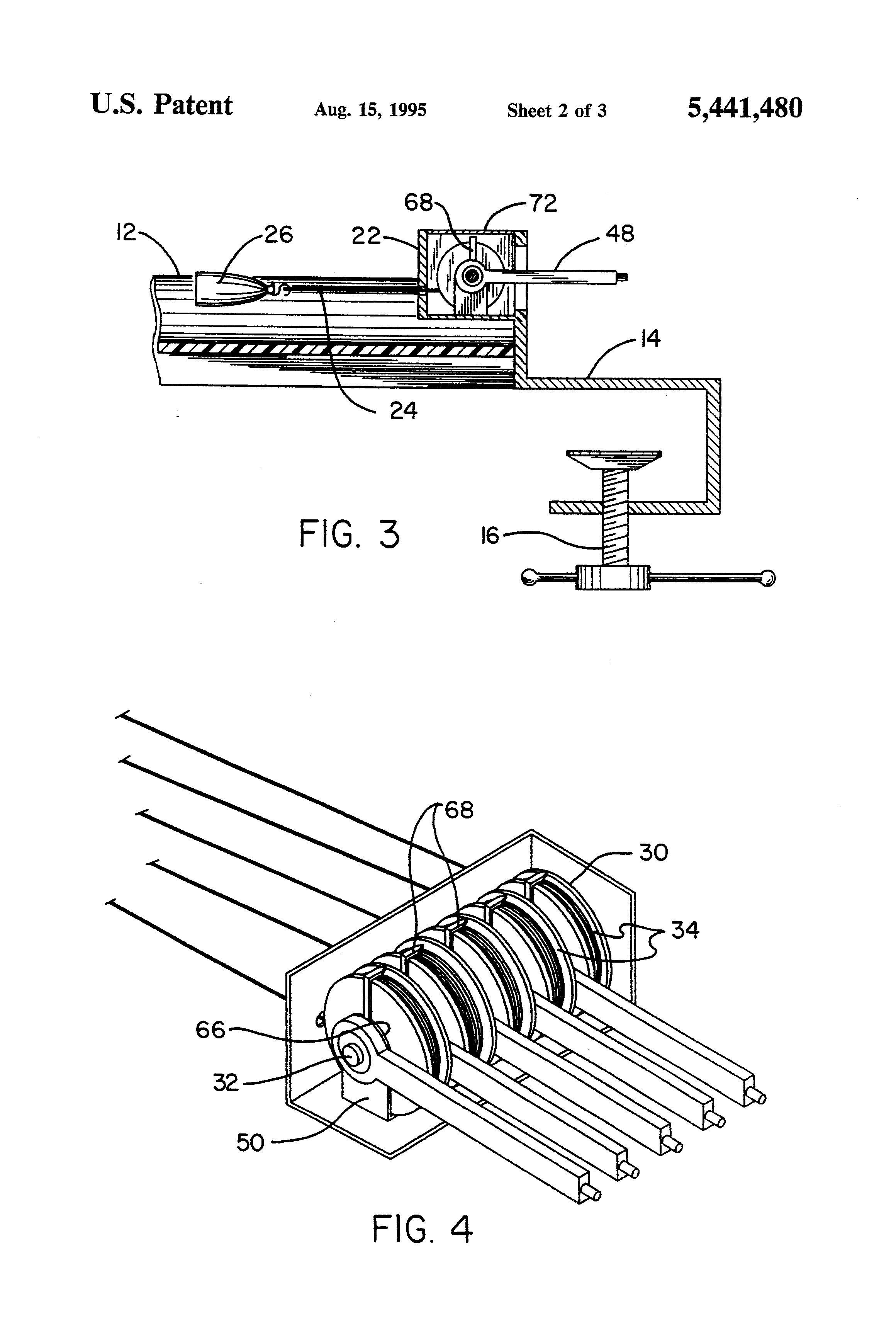 patent us5441480 - surgical traction device