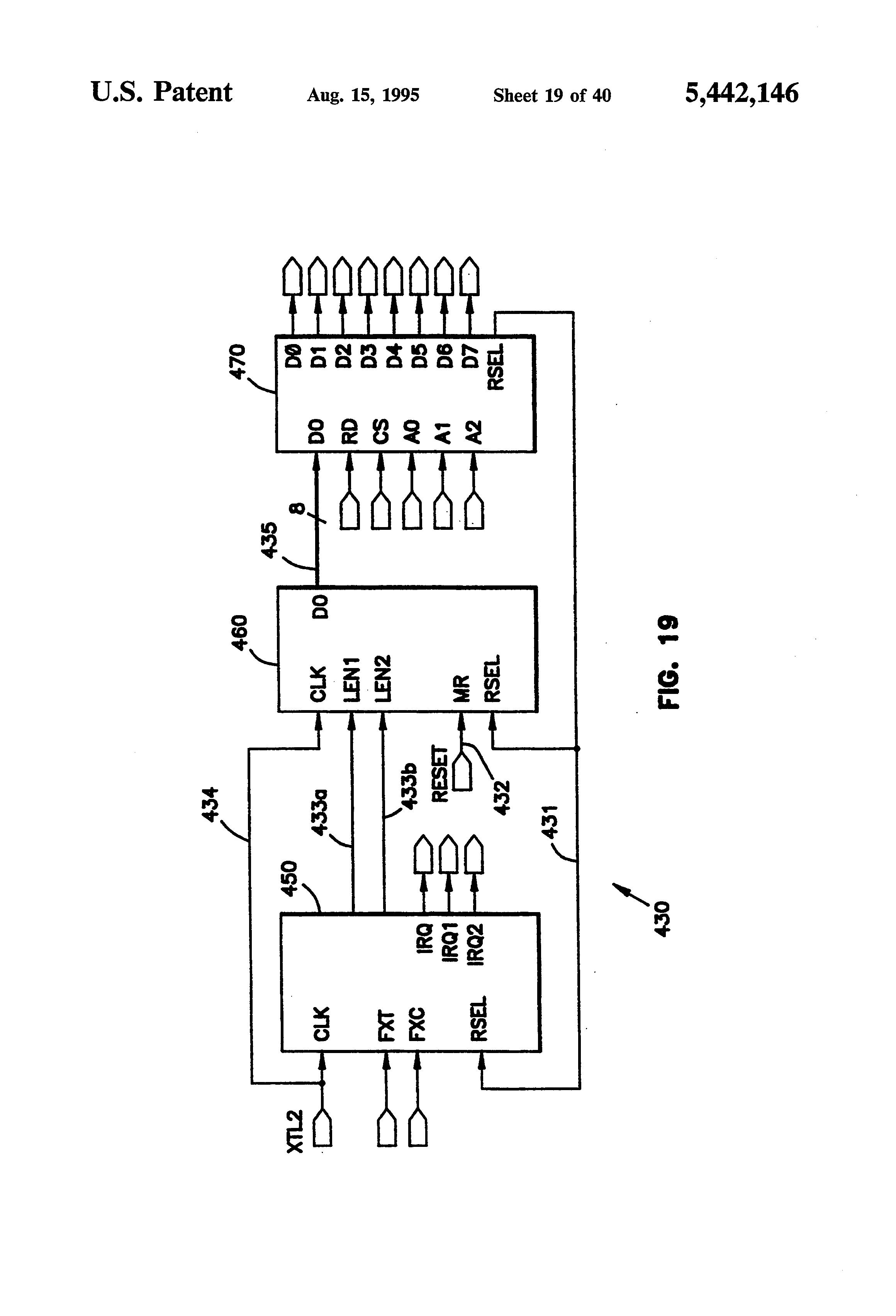 patent us5442146