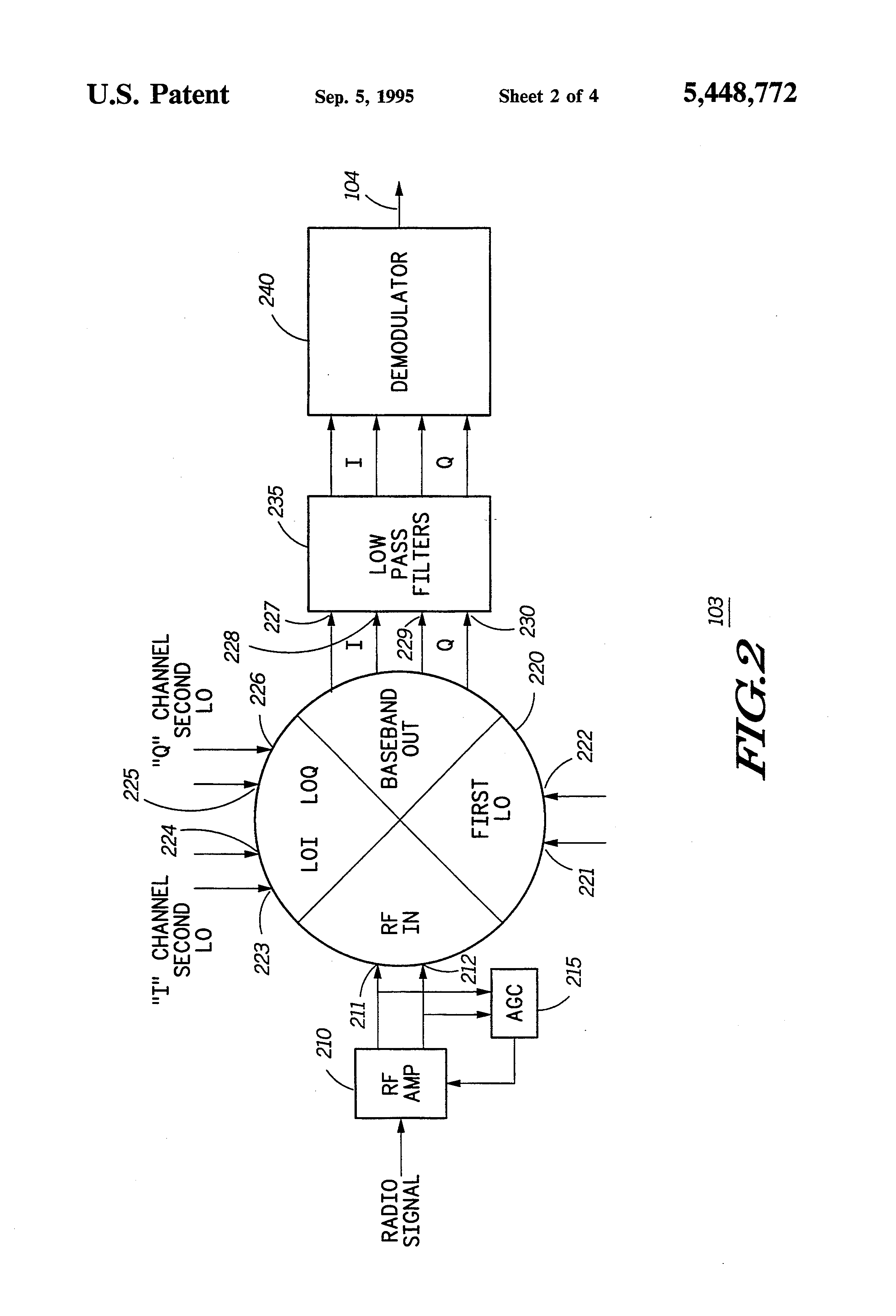 Patent Us5448772 Stacked Double Balanced Mixer Circuit Google The If Of Radio Frequency Npn Amplifier Drawing