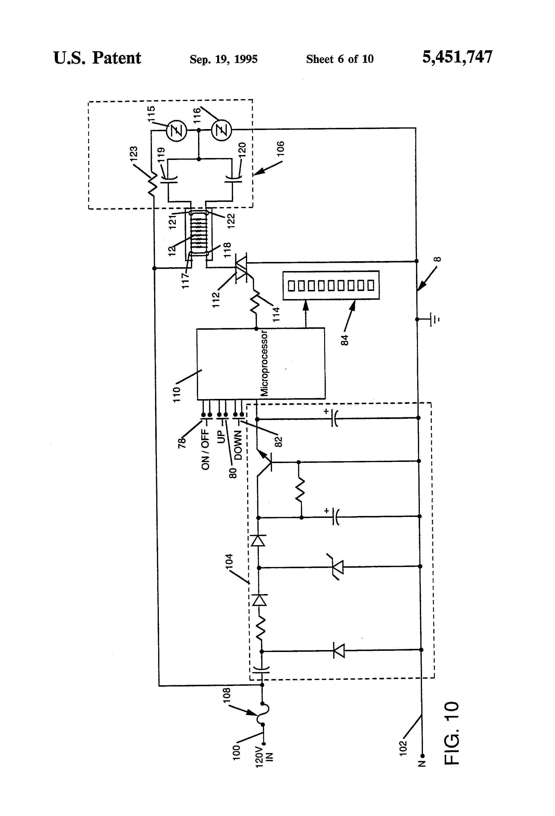 US5451747 6 patent us5451747 flexible self regulating heating pad Simple Wiring Schematics at crackthecode.co