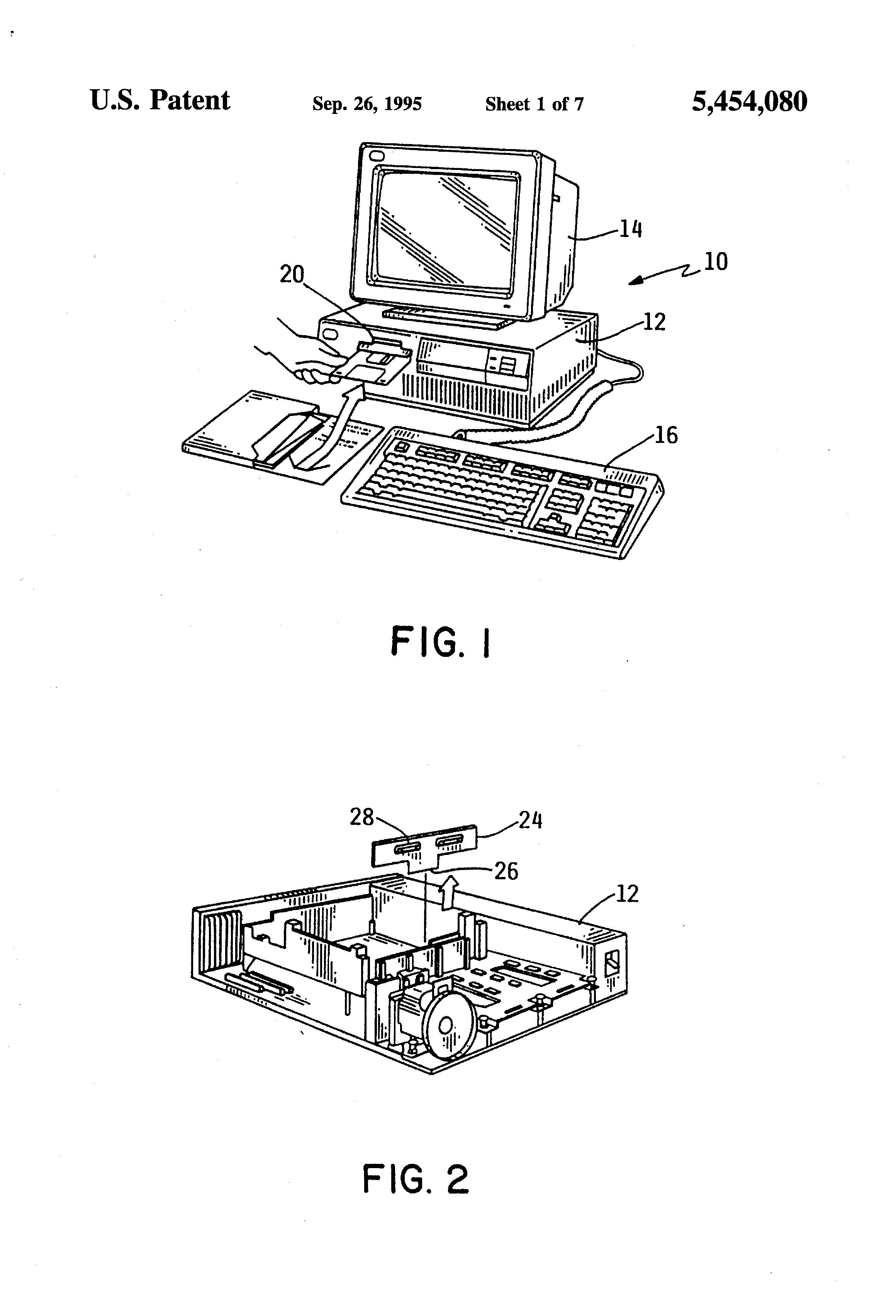 patent us5454080