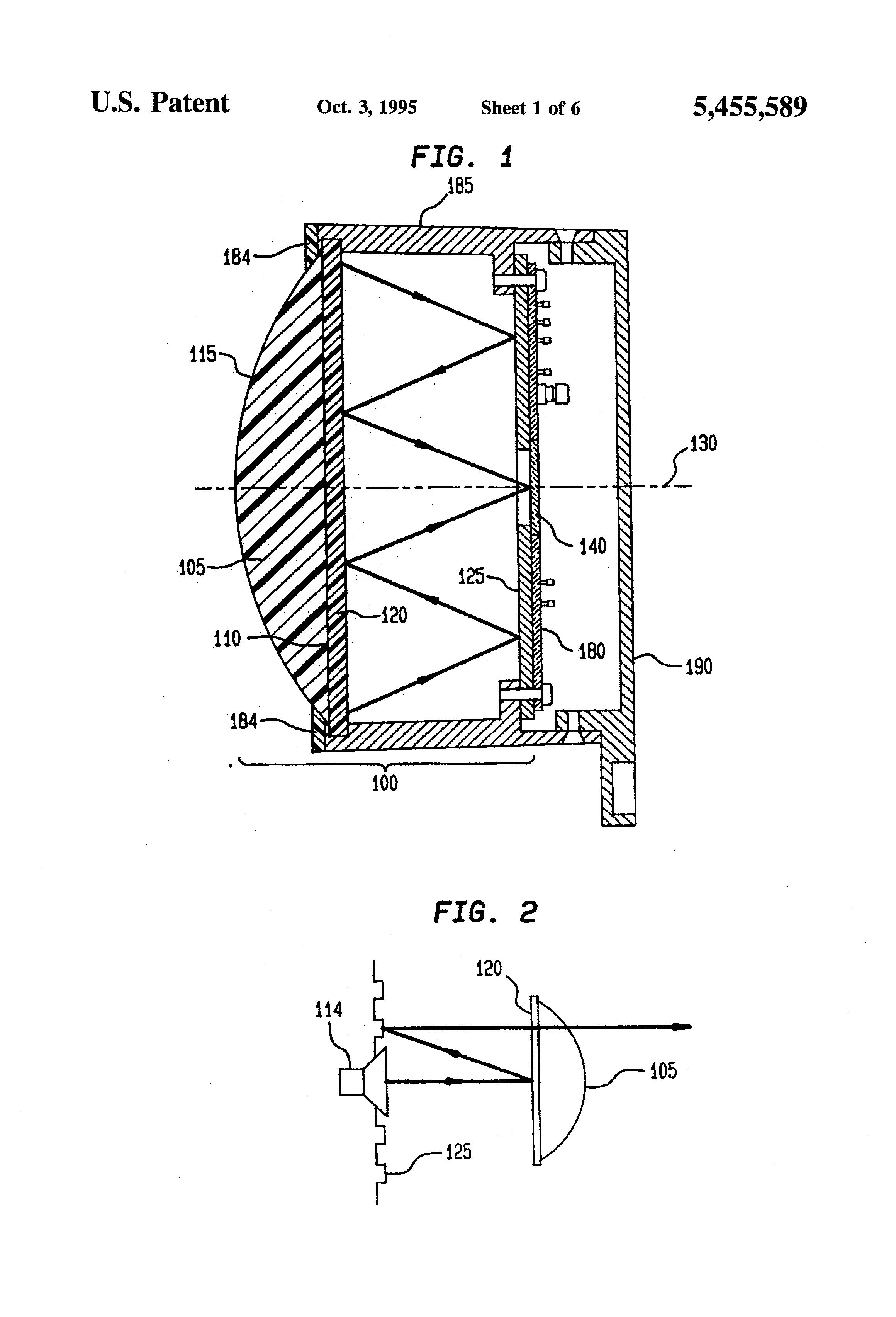 patent us5455589