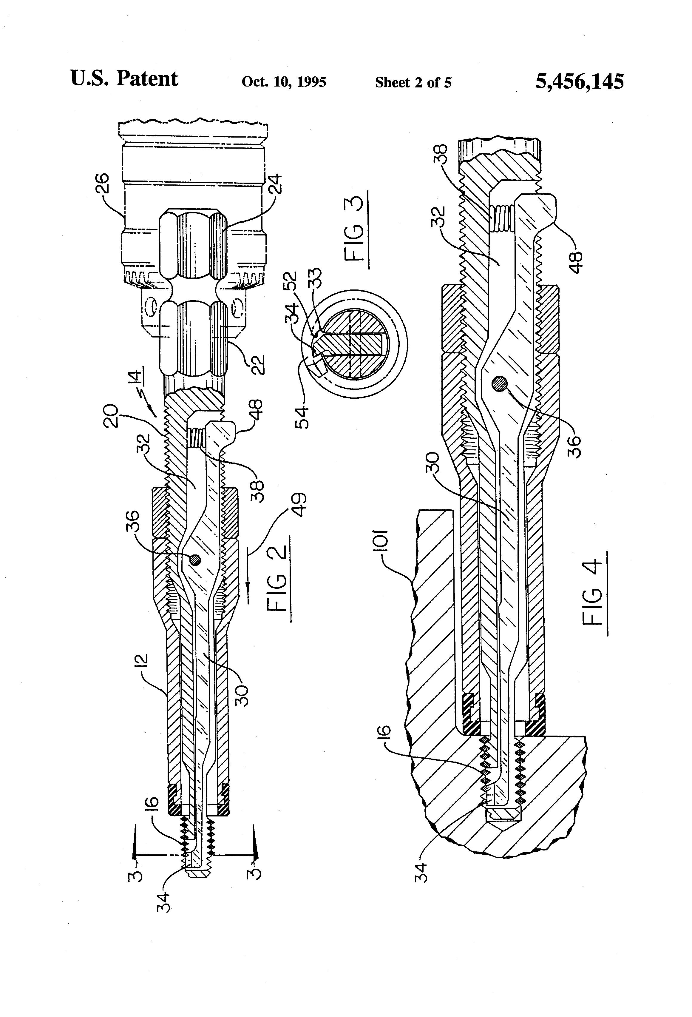 patent us5456145