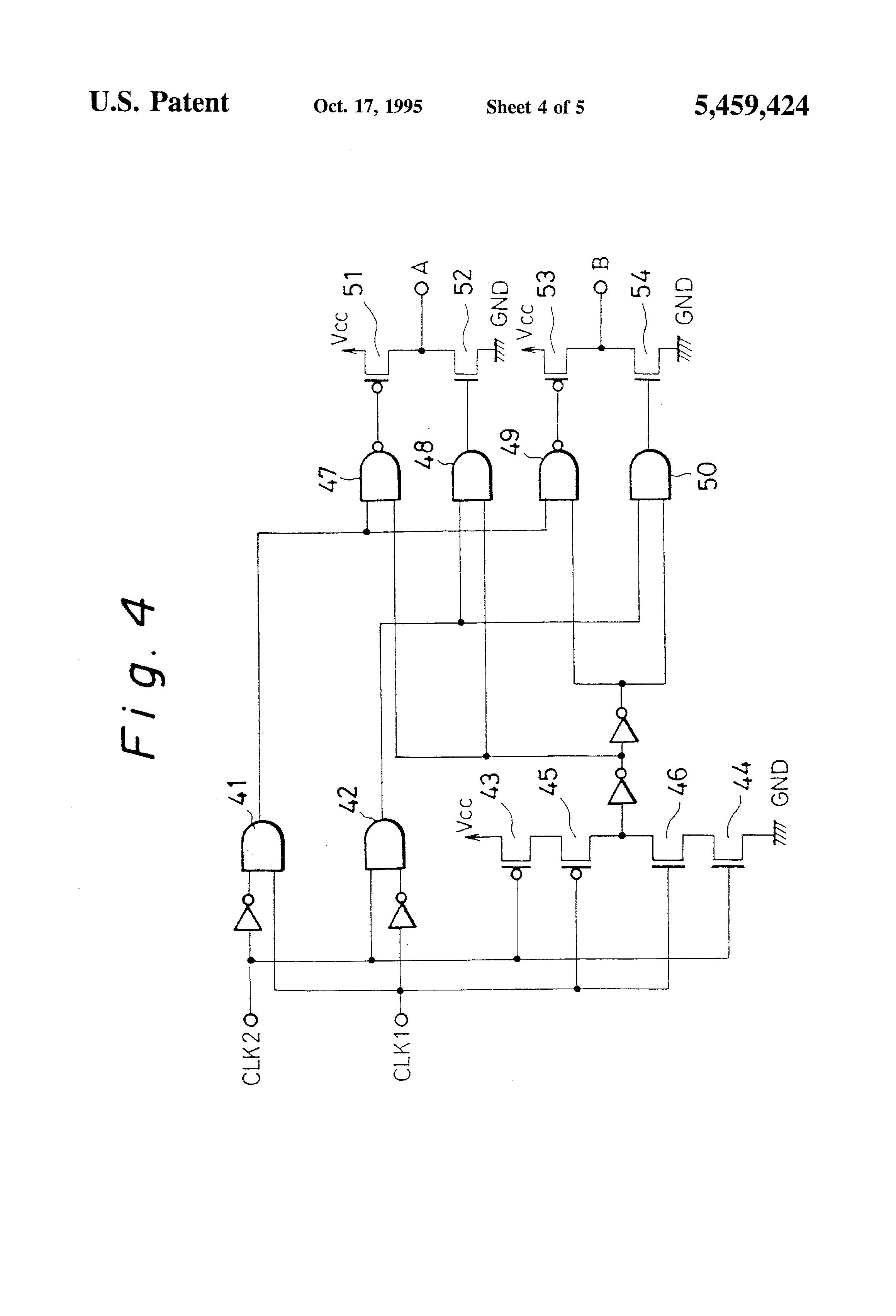 patent us5459424 - cmos pulse delay circuit