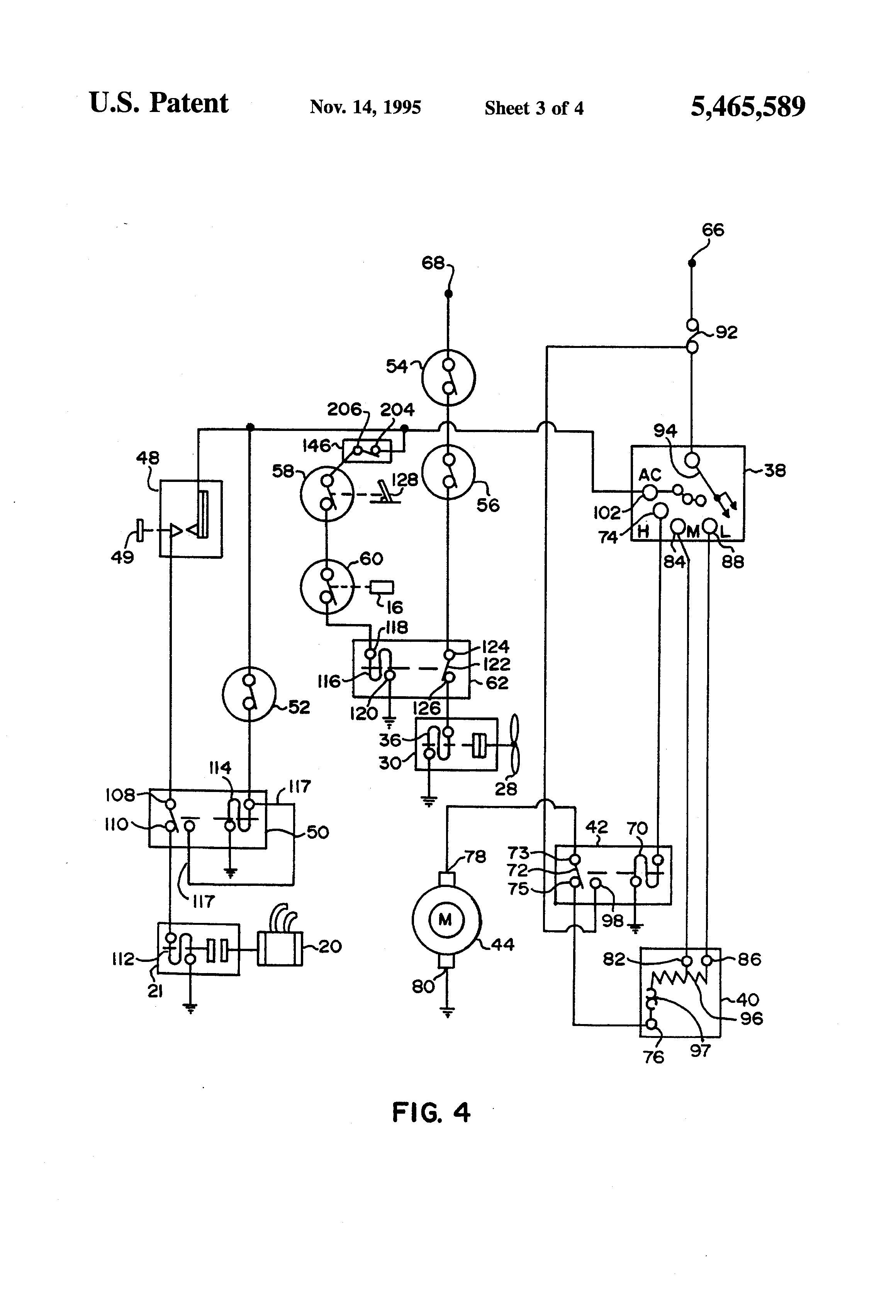 patent us5465589 - idle automated a  c system