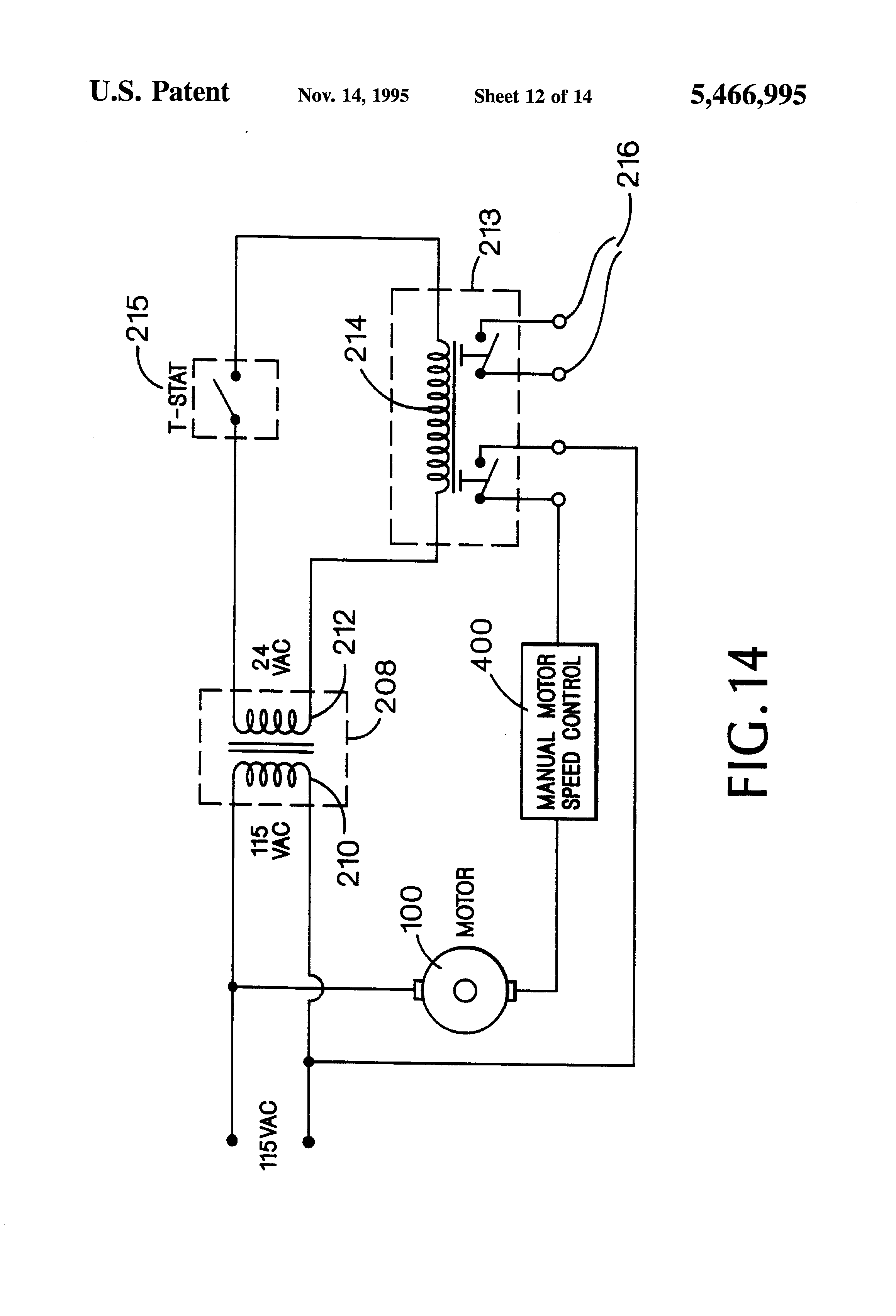 US5466995 12 patent us5466995 zoning circulator controller google patents taco cartridge circulator wiring diagram at mifinder.co