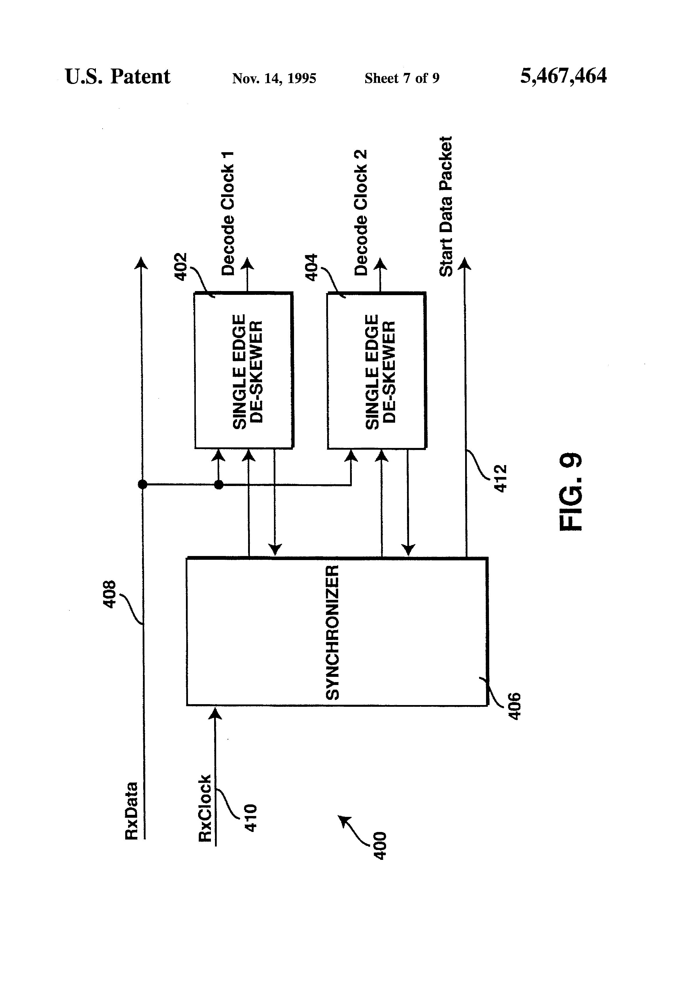 patent us5467464