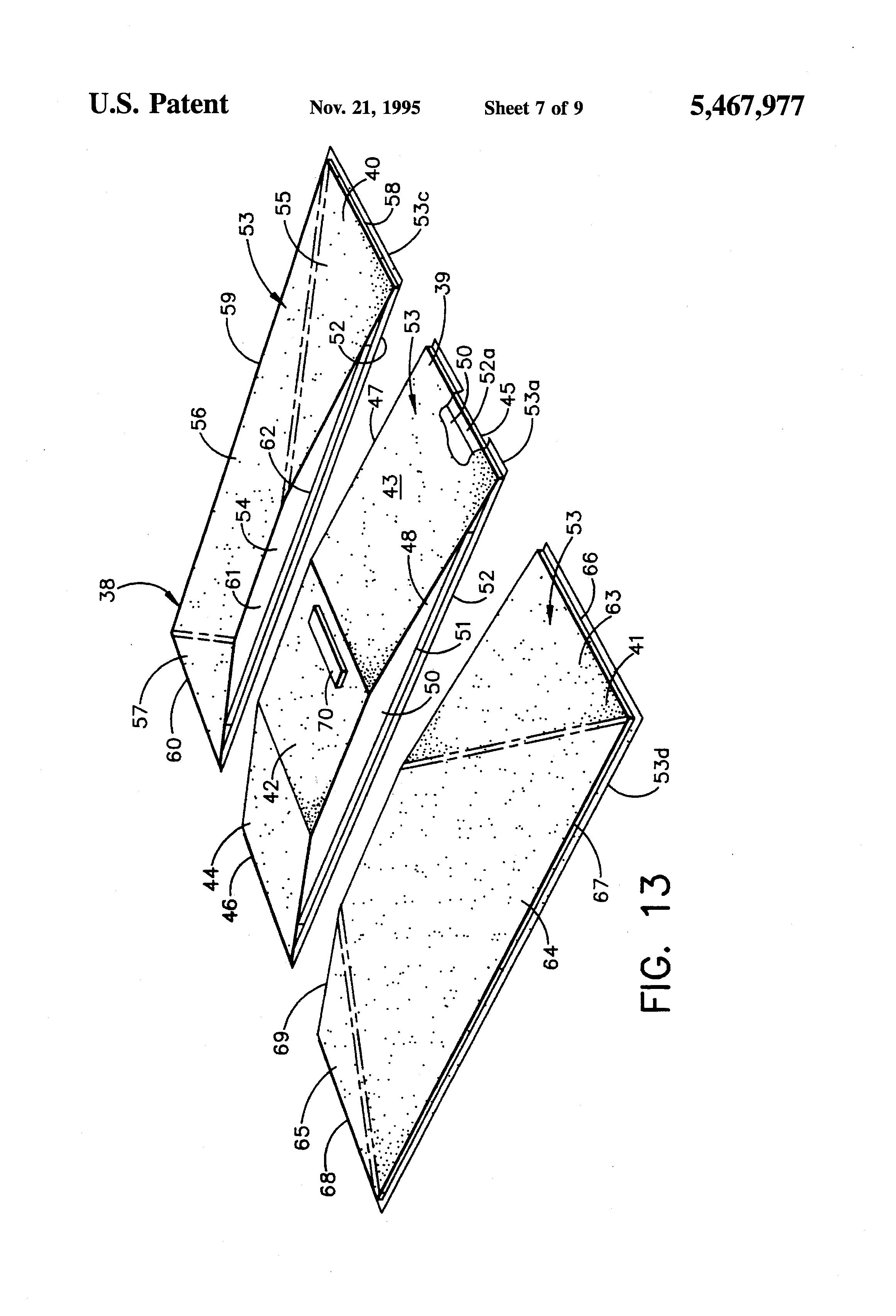 Patent US5467977 - Portable pitching mound - Google Patents