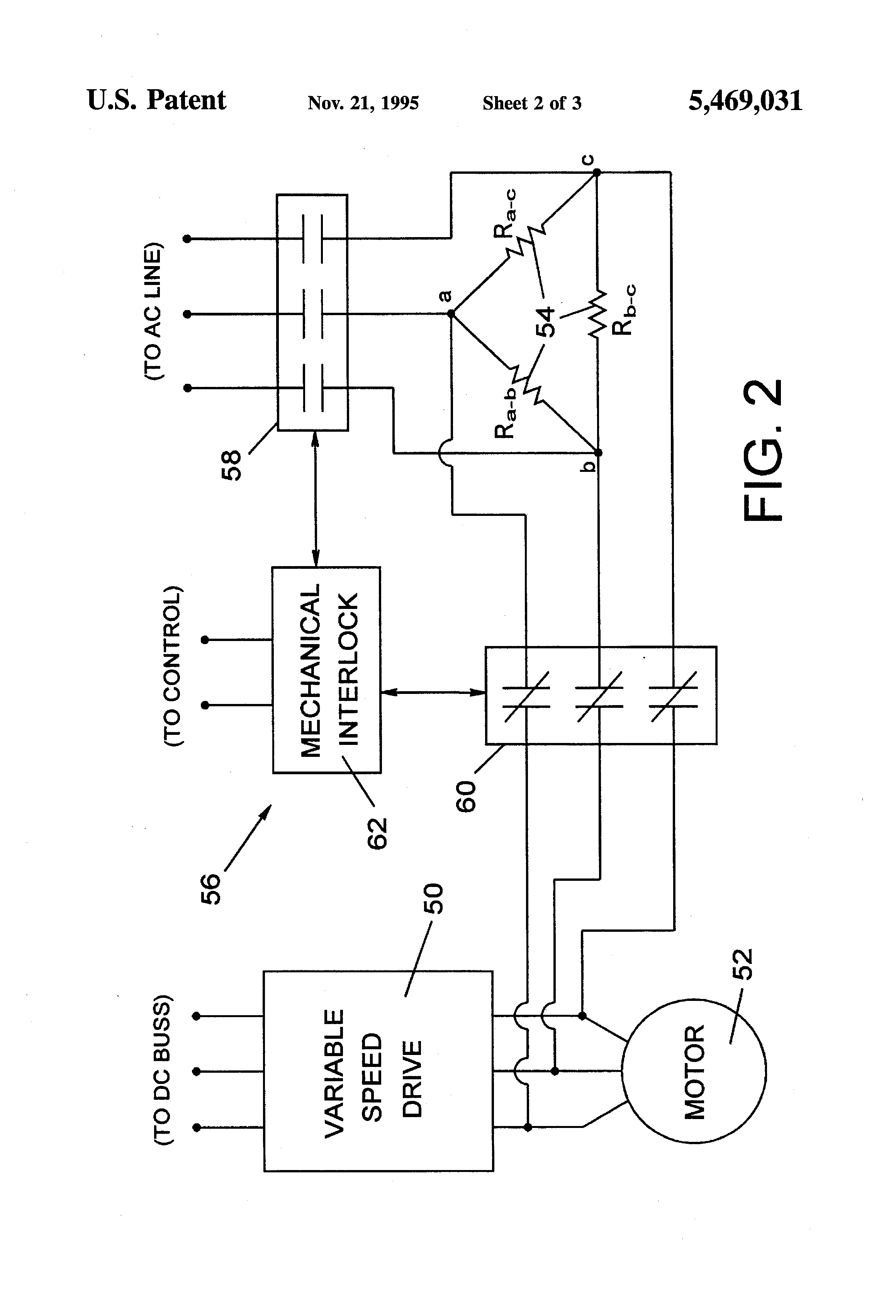 patent us5469031 dynamic braking for electric motors in a patent drawing