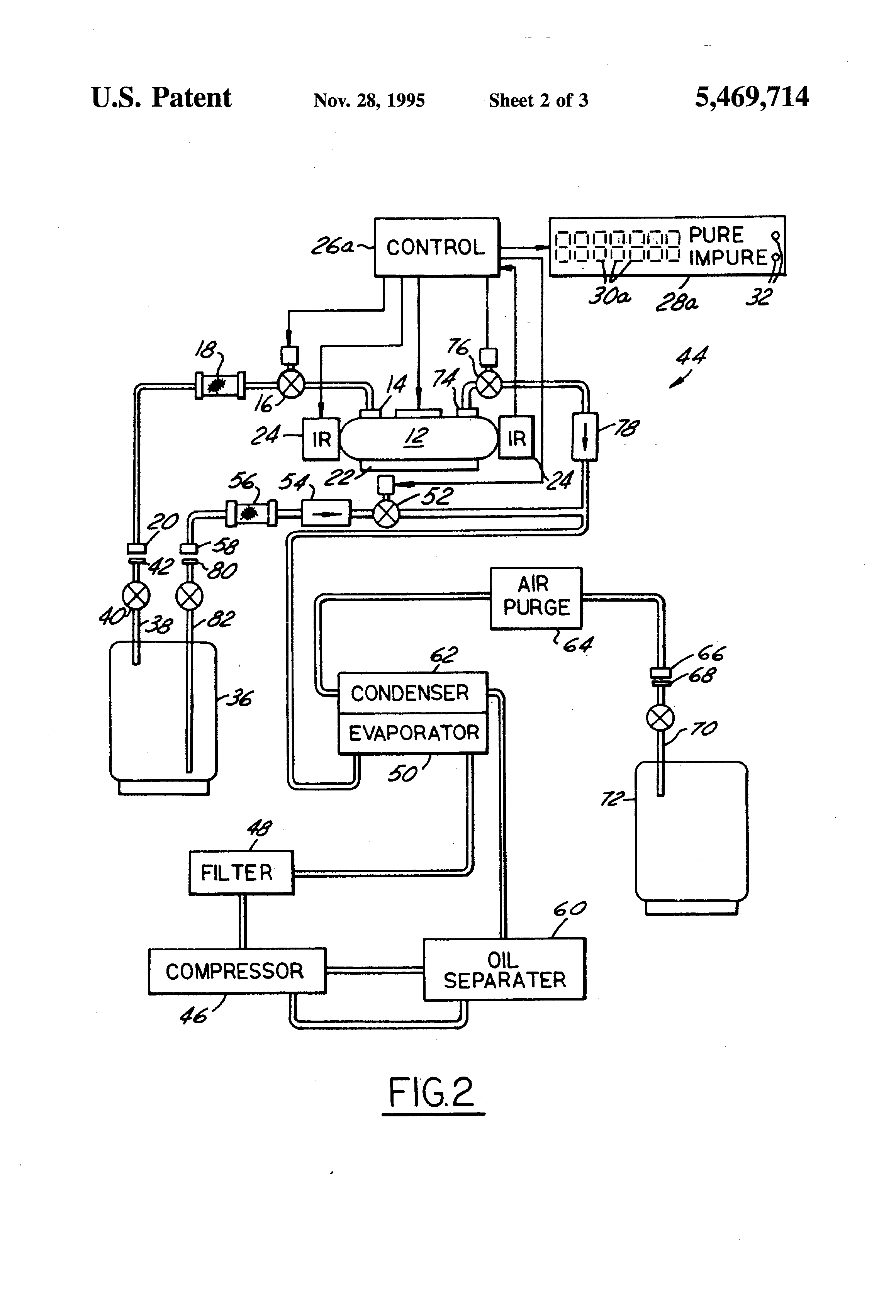 and apparatus for analyzing refrigerant properties   Patents #3E3E3E