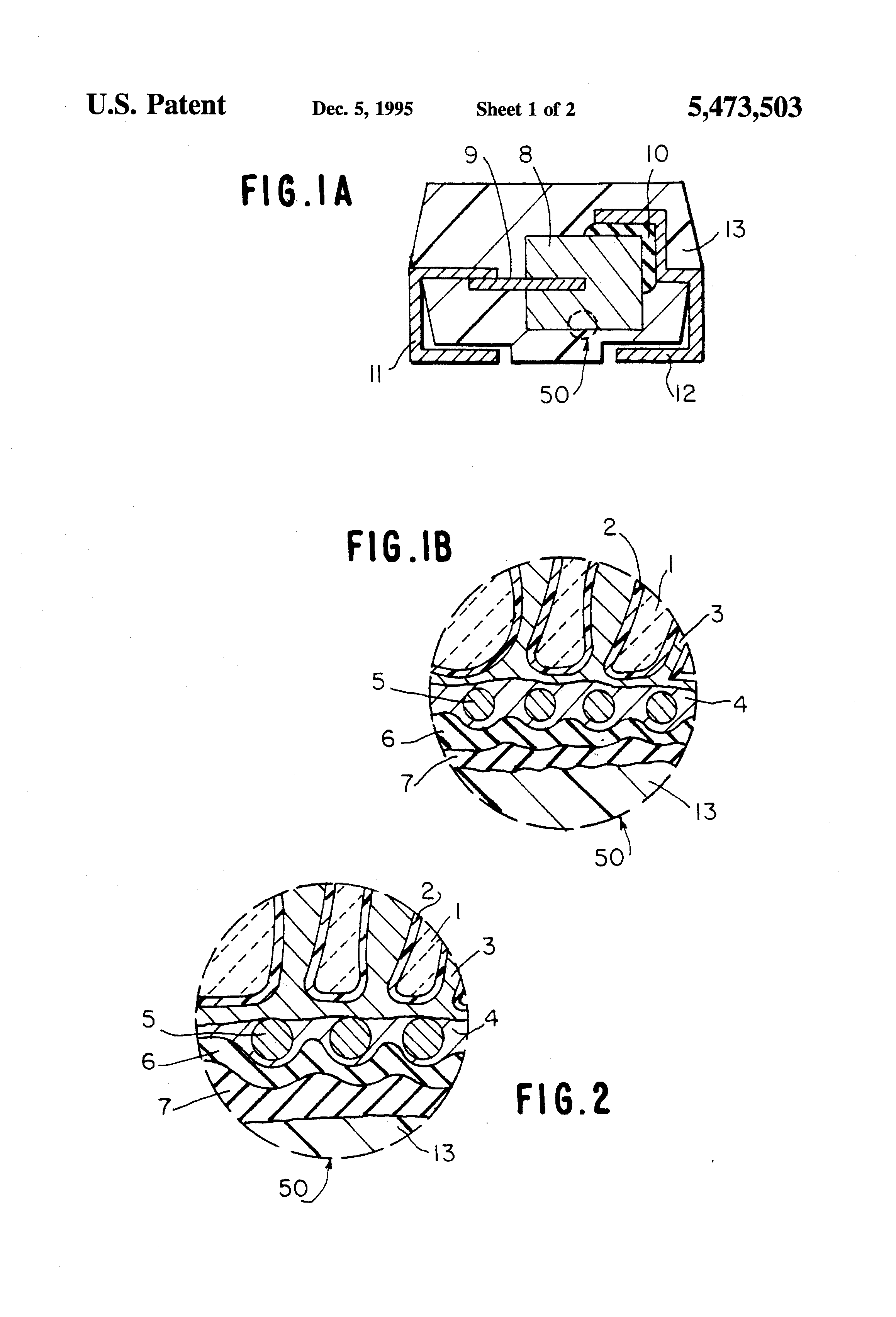 Patent Us5473503 Solid Electrolytic Capacitor And Method For Wiring Diagram Drawing