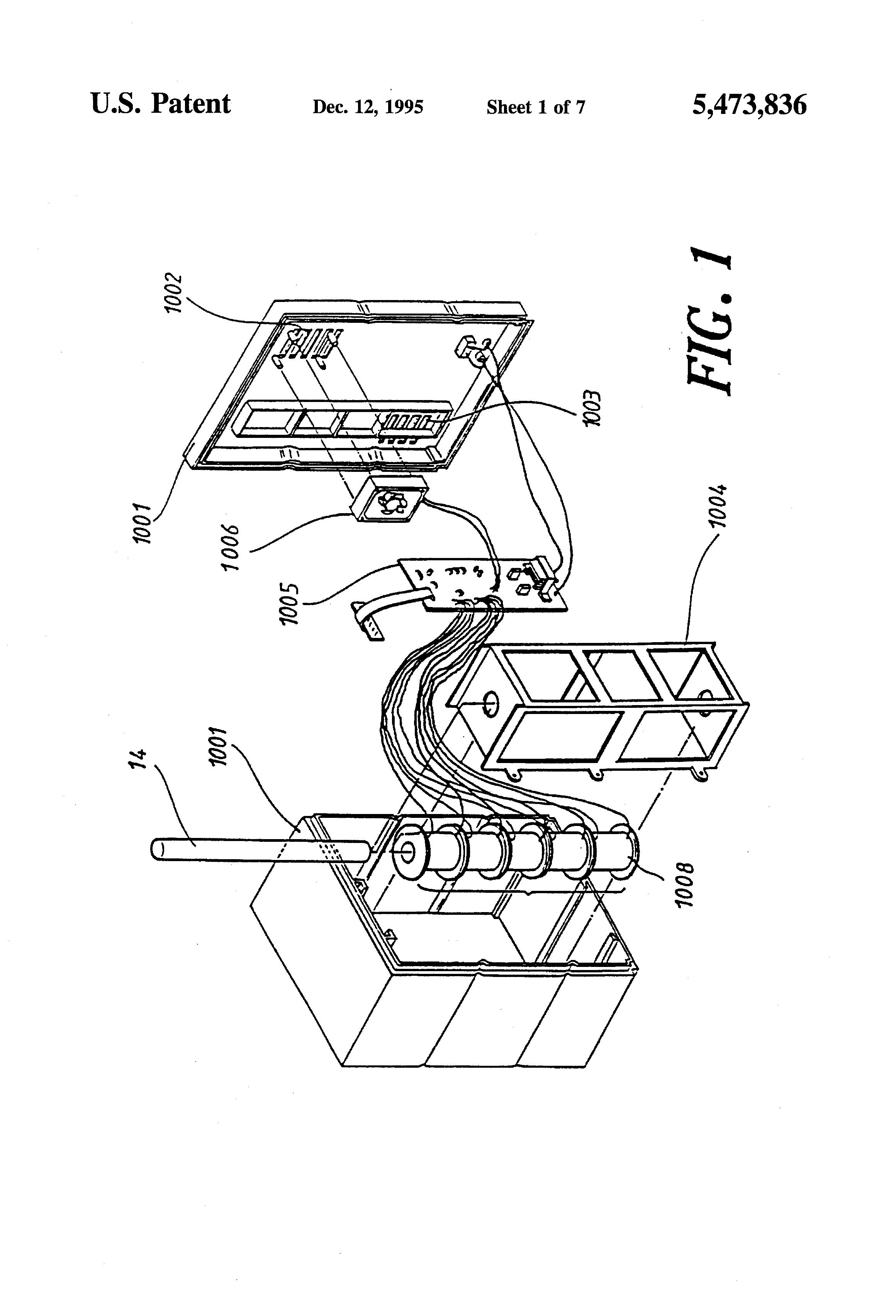 patent us5473836
