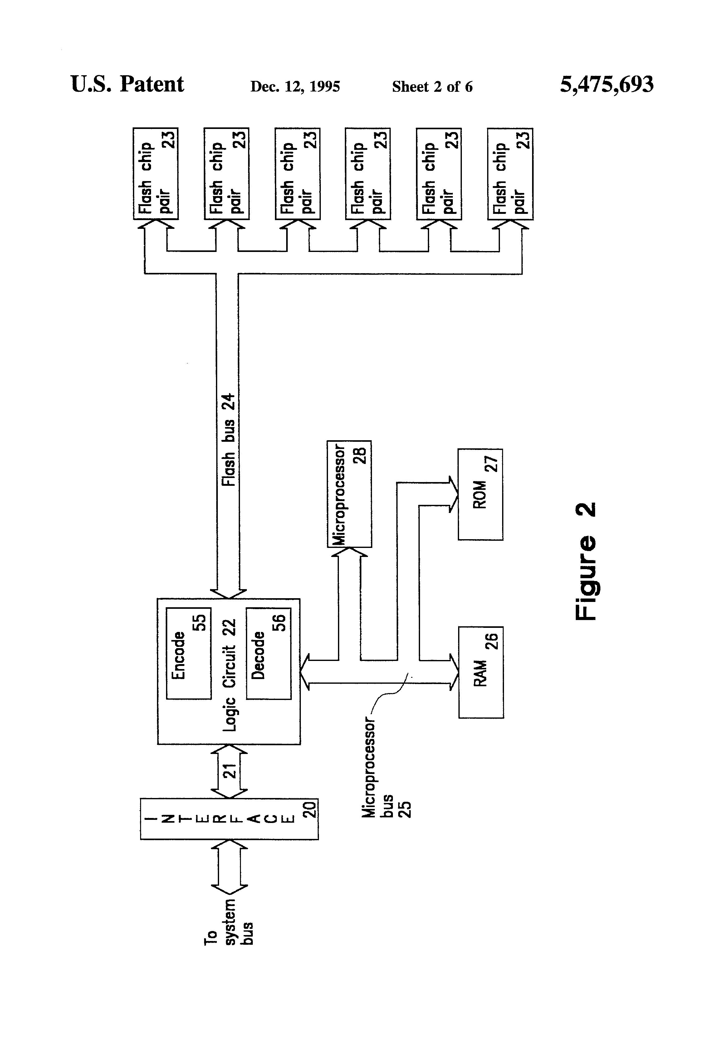 patent us5475693