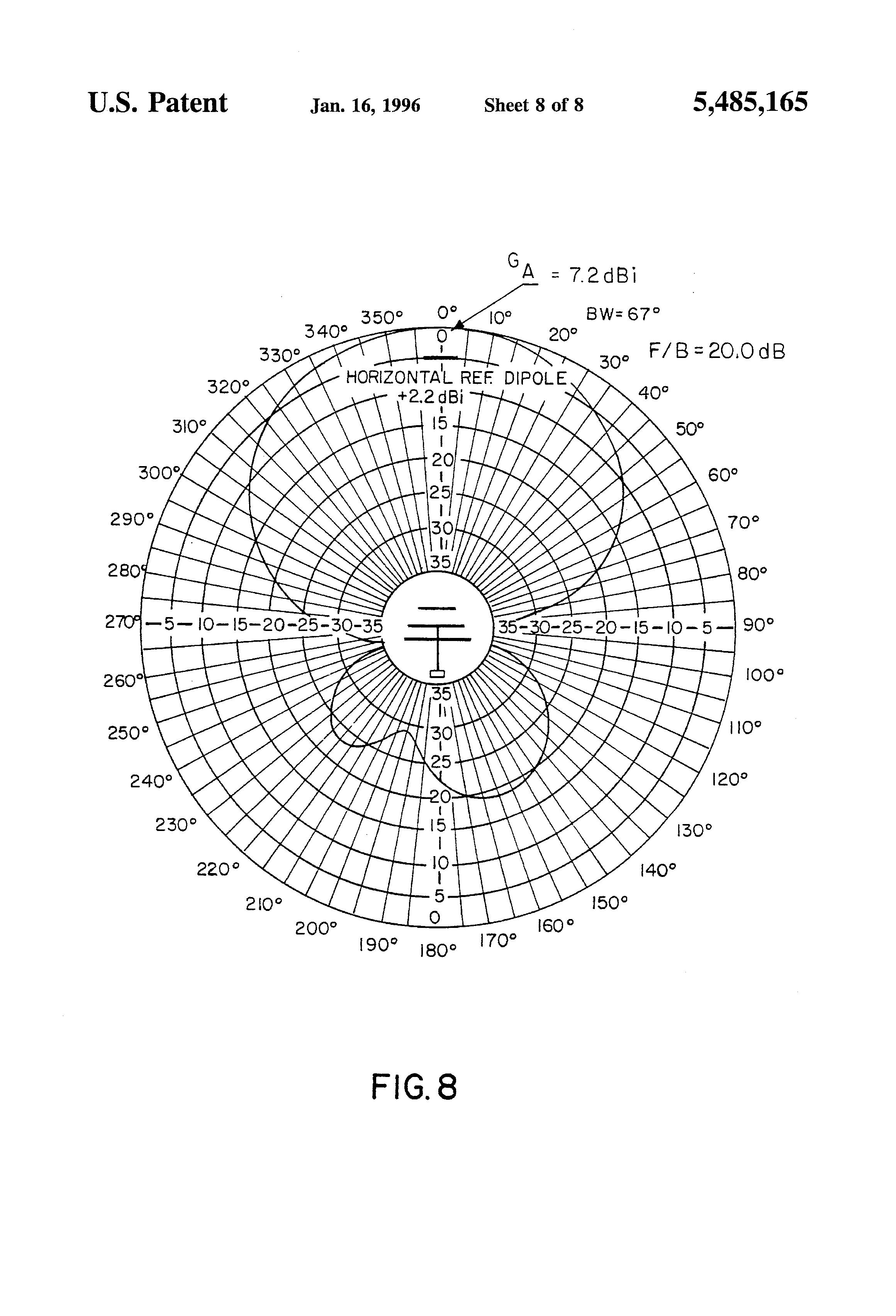 patent us5485165
