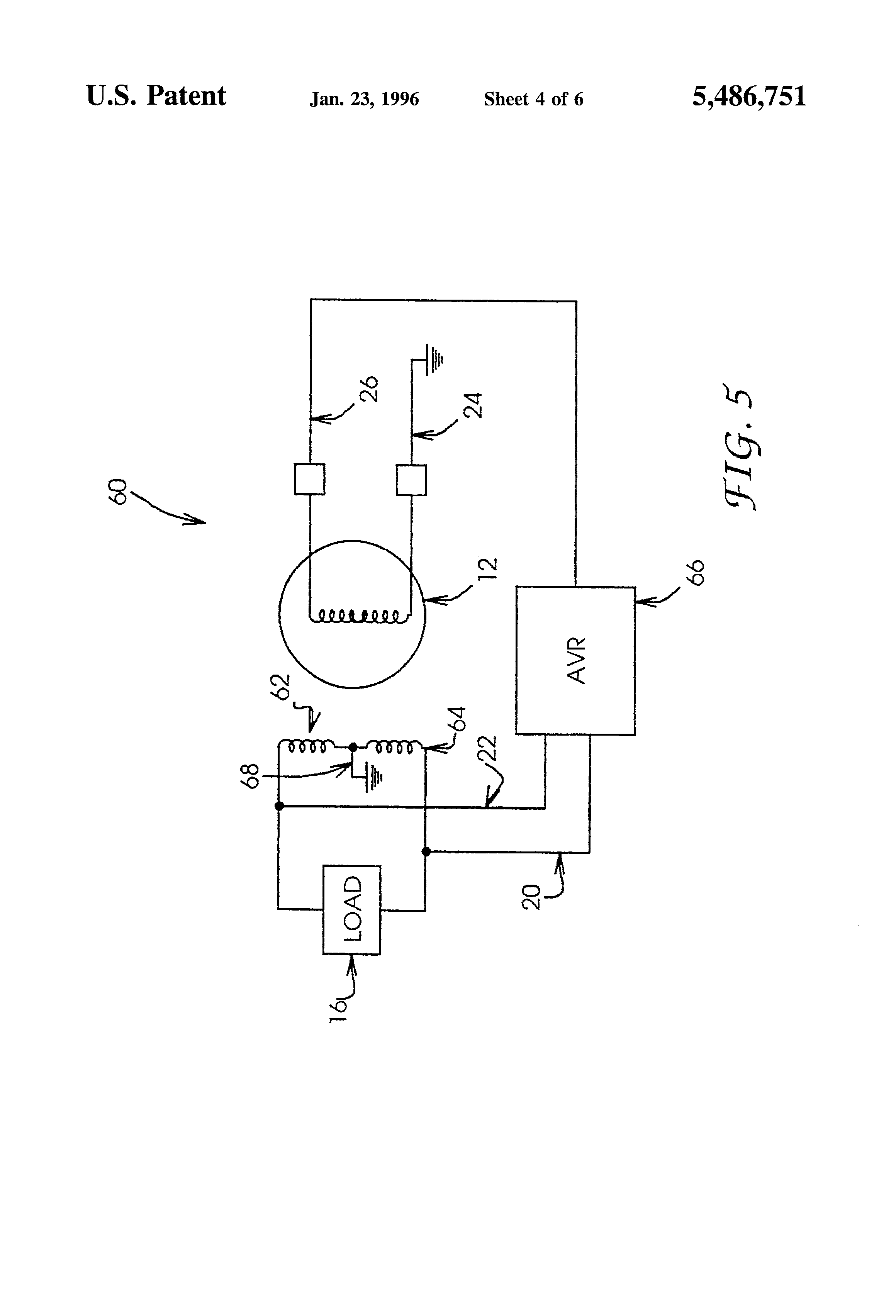 US5486751 4 patent us5486751 electronic trimming voltage regulator google mecc alte wiring diagram at n-0.co