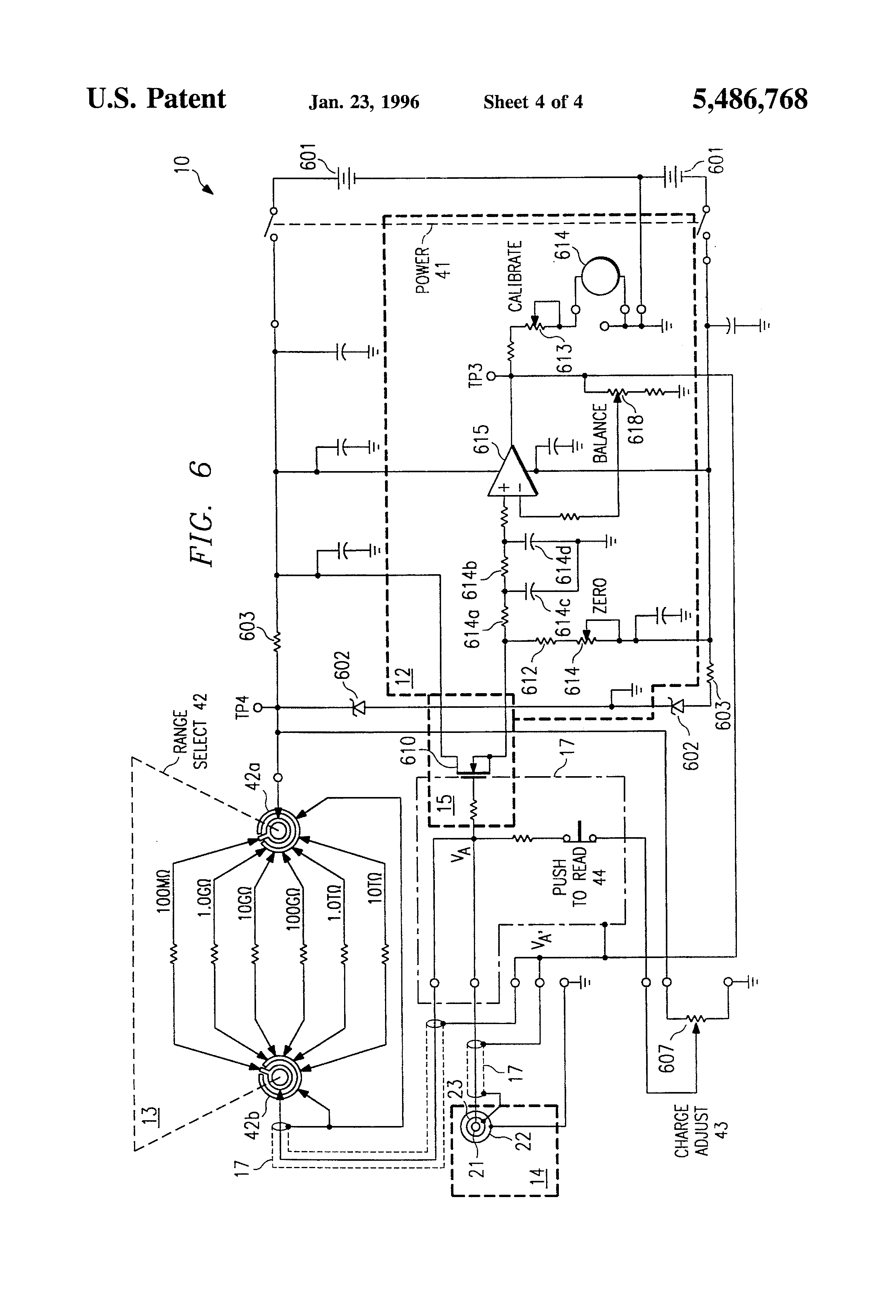 ohmmeter  low resistance ohmmeter schematic