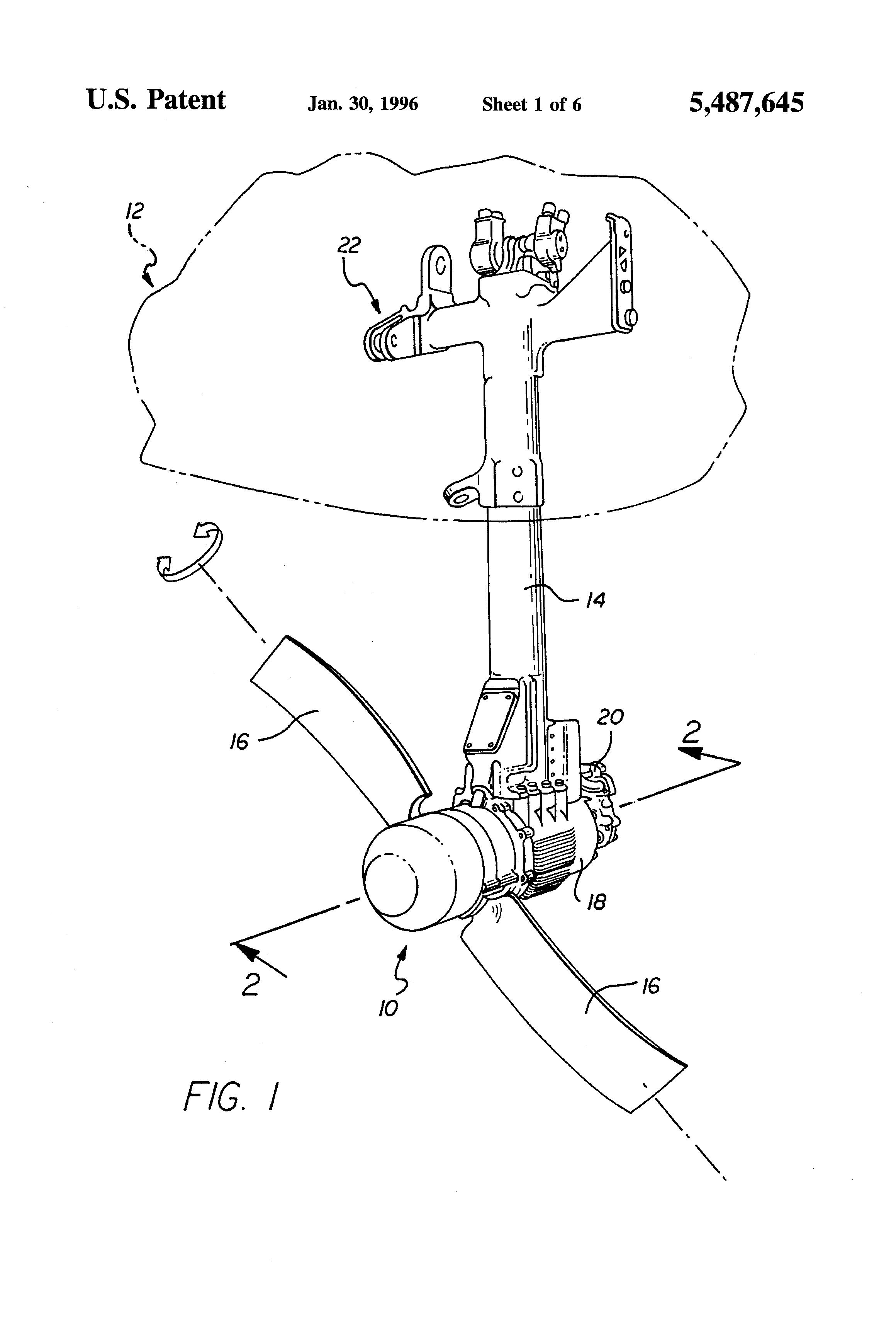 Patent US Ram air turbine with secondary governor