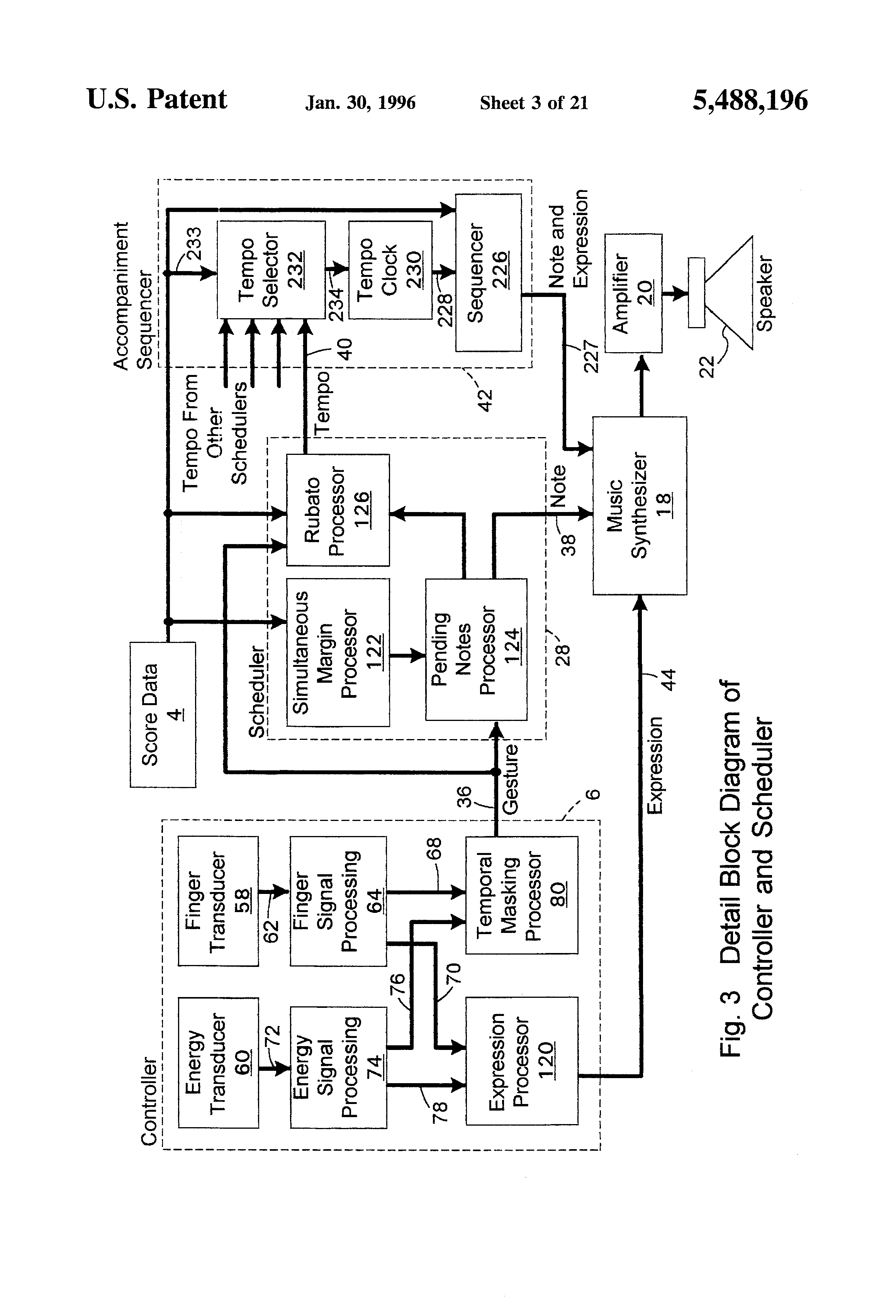 patent us electronic musical re performance and editing patent drawing