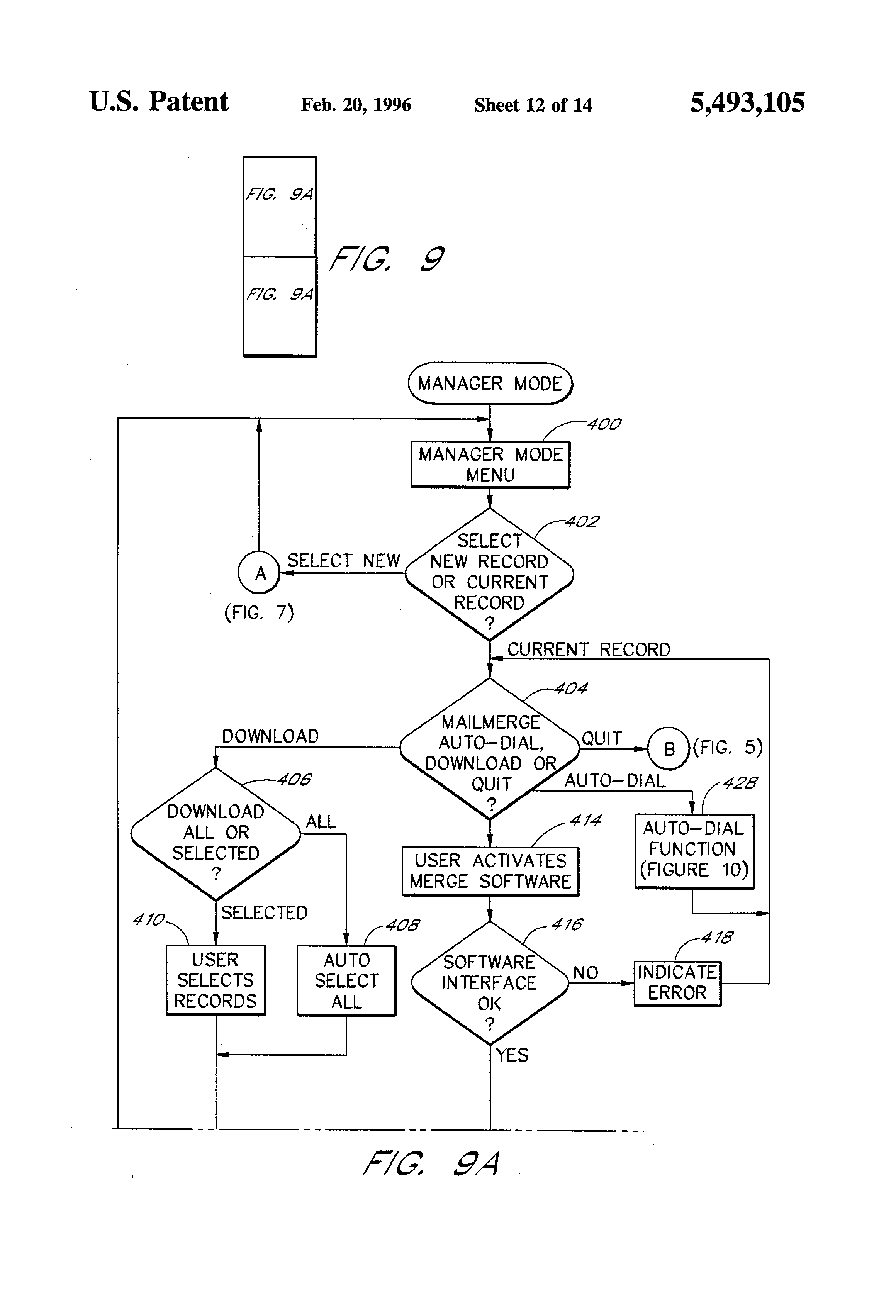 Patent US5493105 - Electronic business card system - Google Patents