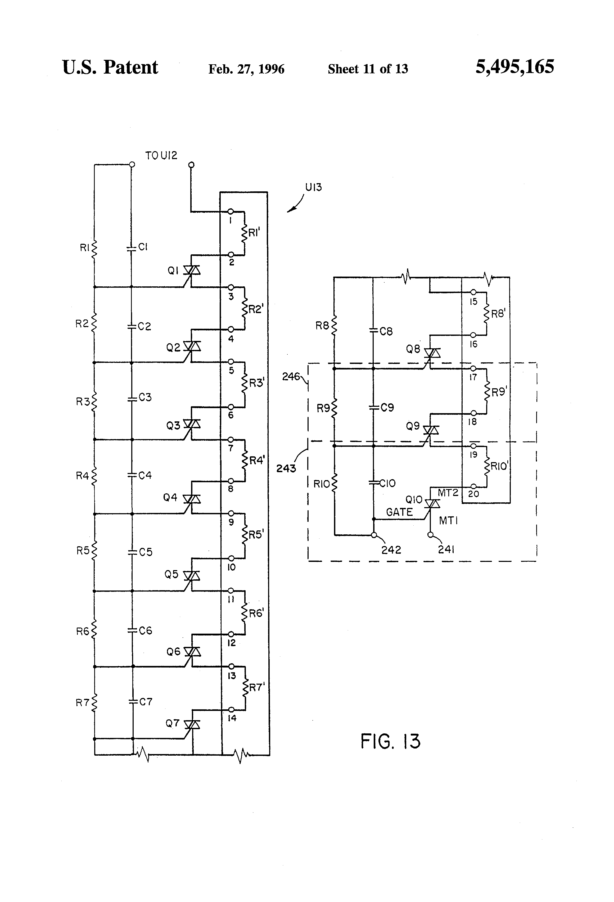 patente us5495165