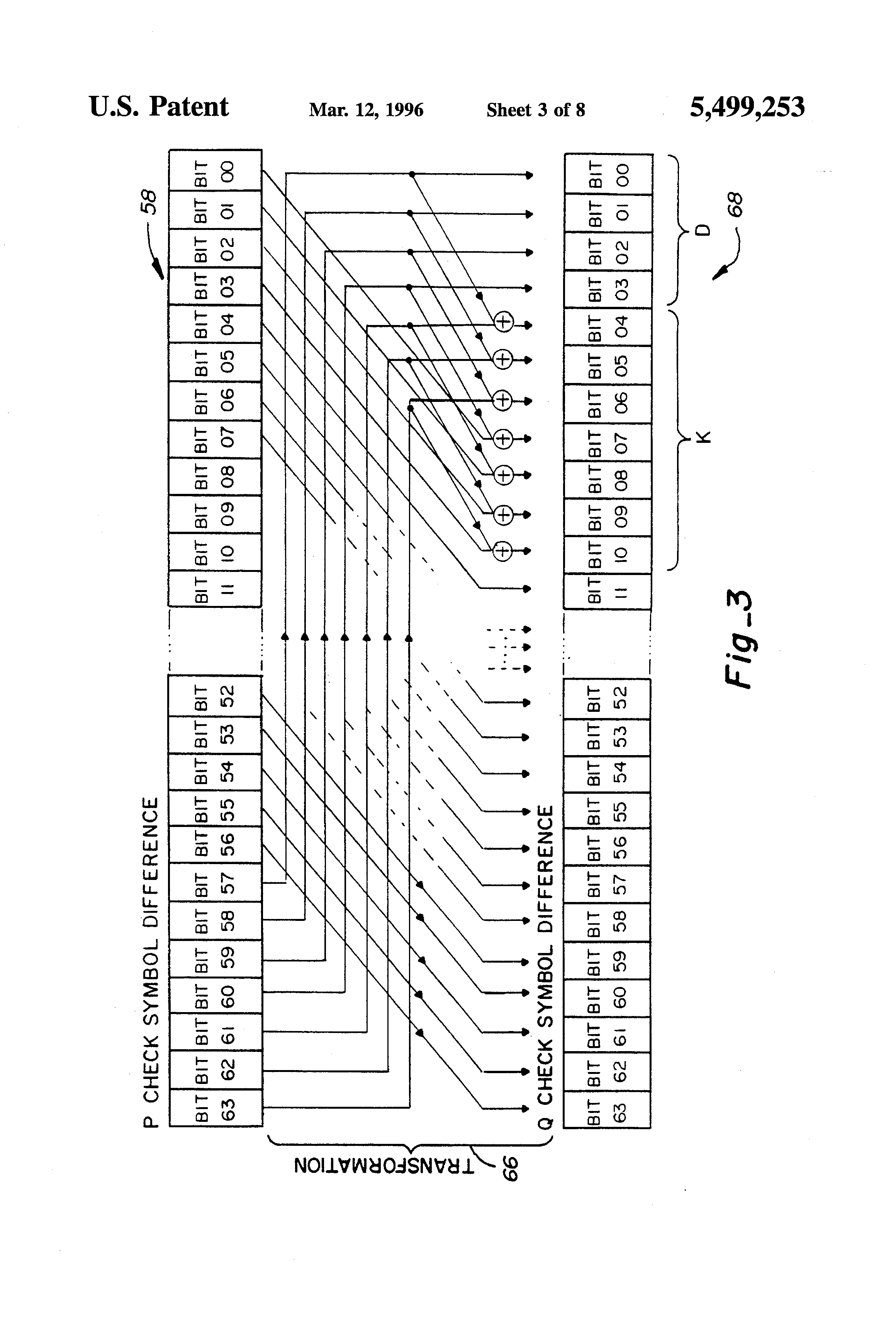 Patent Us5499253 System And Method For Calculating Raid