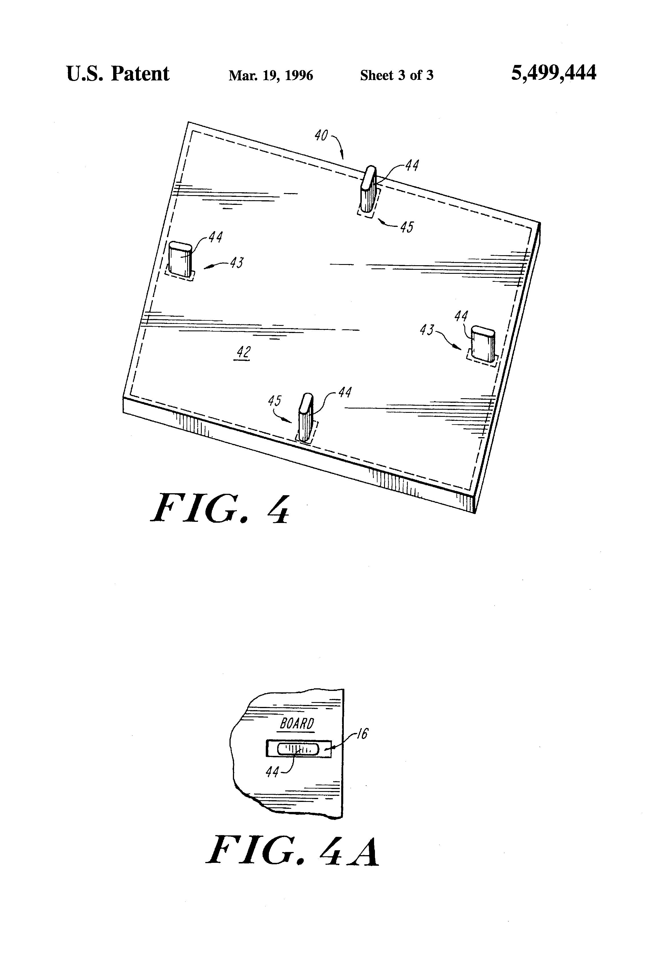 patent us5499444